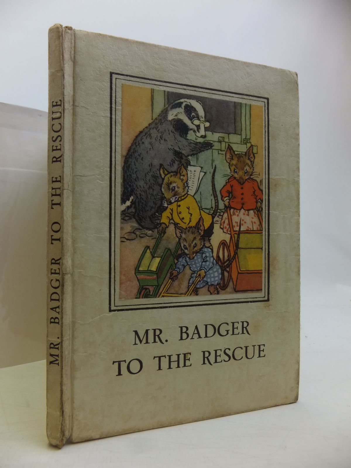 Photo of MR. BADGER TO THE RESCUE written by Macgregor, A.J.<br />Perring, W. illustrated by Macgregor, A.J. published by Wills & Hepworth Ltd. (STOCK CODE: 1811396)  for sale by Stella & Rose's Books