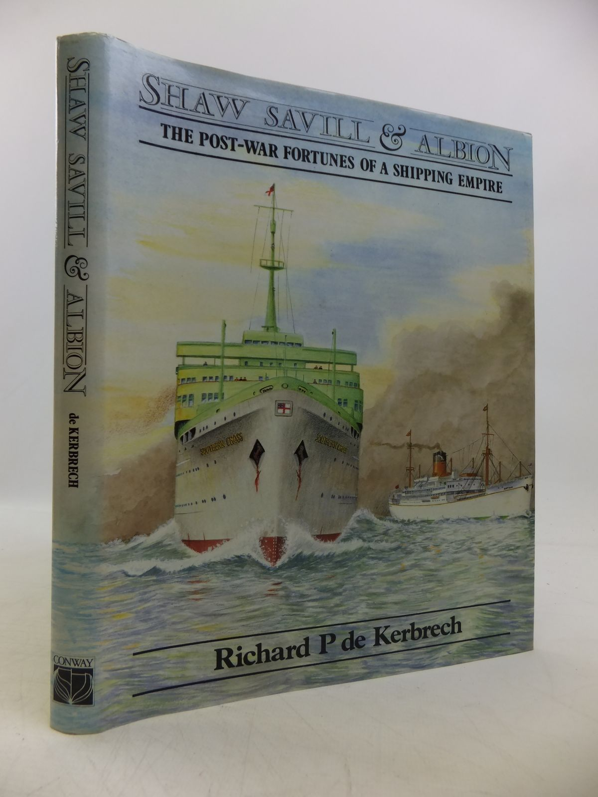 Photo of SHAW SAVILL & ALBION: THE POST-WAR FORTUNES OF A SHIPPING EMPIRE written by De Kerbreech, Richard P. published by Conway Maritime Press (STOCK CODE: 1811631)  for sale by Stella & Rose's Books