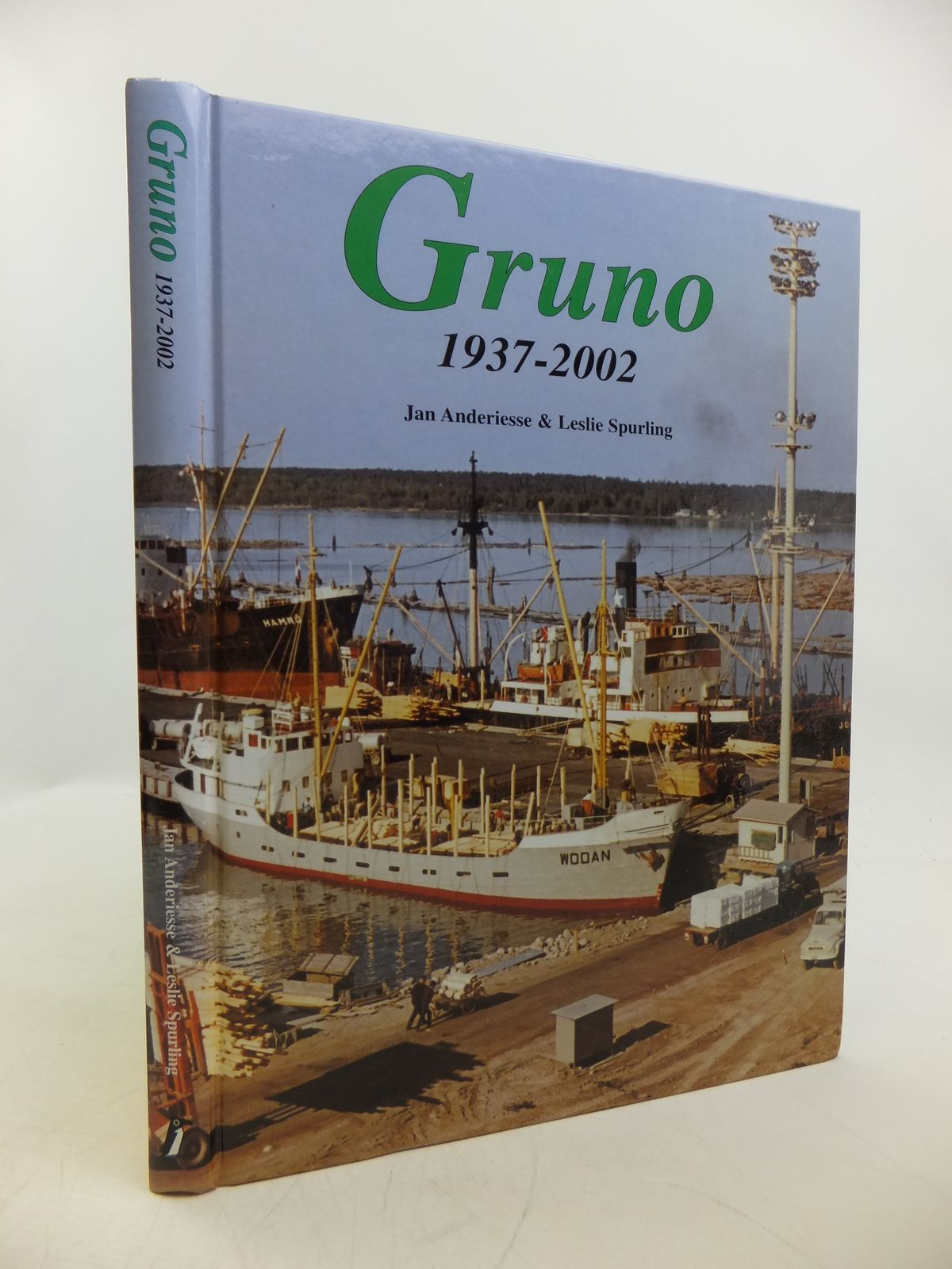 Photo of GRUNO 1937-2002 written by Anderiesse, Jan<br />Spurling, Leslie published by Uitgeverij De Alk (STOCK CODE: 1811714)  for sale by Stella & Rose's Books