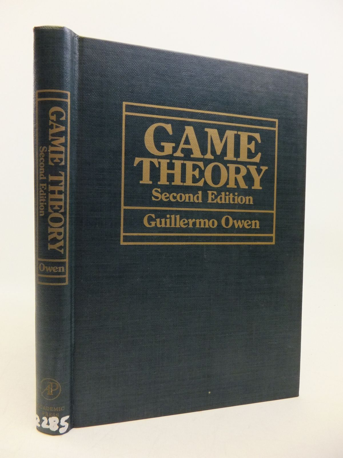Photo of GAME THEORY written by Owen, Guillermo published by Academic Press (STOCK CODE: 1811755)  for sale by Stella & Rose's Books