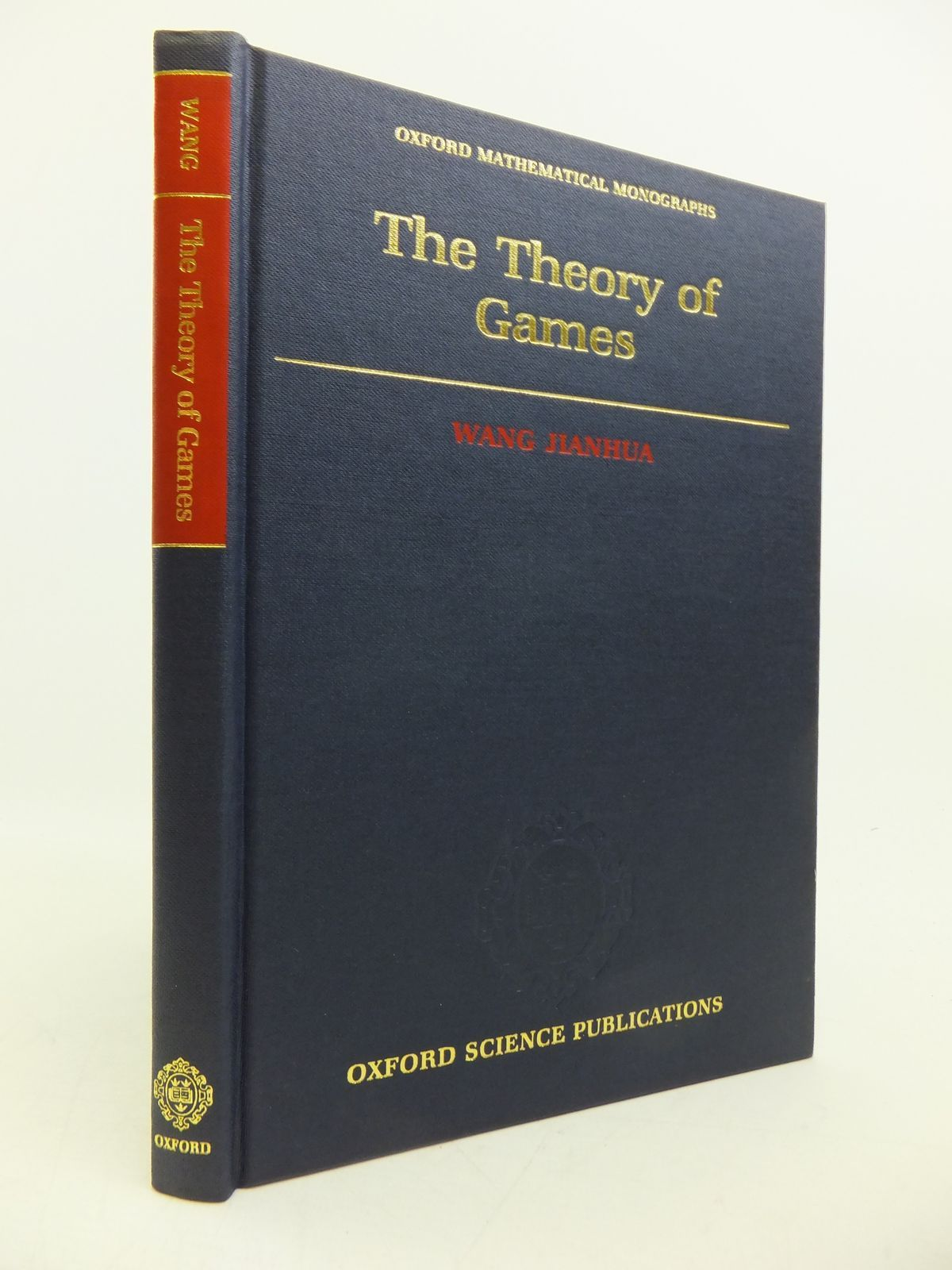 Photo of THE THEORY OF GAMES written by Jianhua, Wang published by Clarendon Press (STOCK CODE: 1811775)  for sale by Stella & Rose's Books