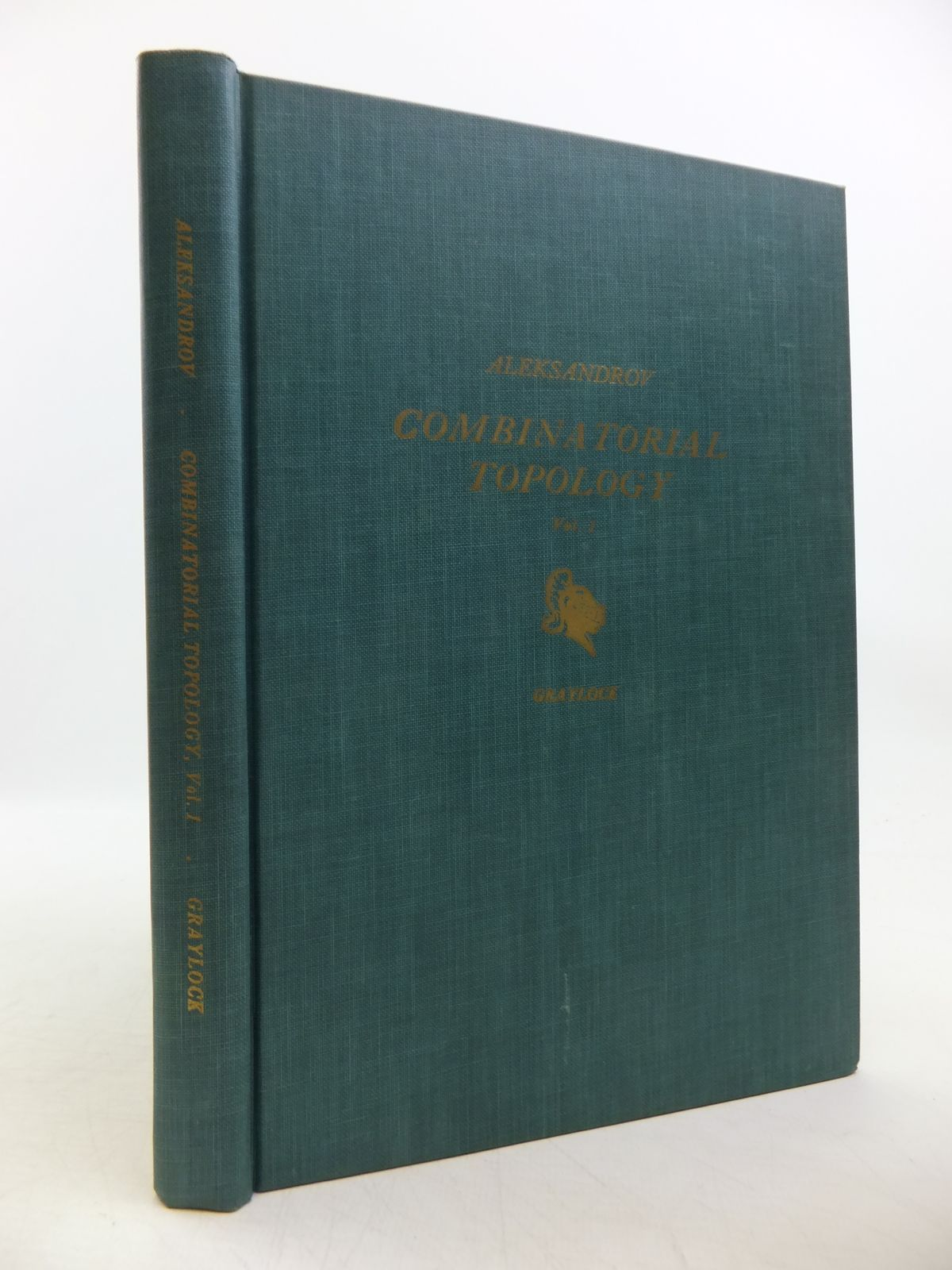 Photo of COMINATORIAL TOPOLOGY VOLUME 1 written by Aleksandrov, P.S. published by Graylock Press (STOCK CODE: 1811779)  for sale by Stella & Rose's Books