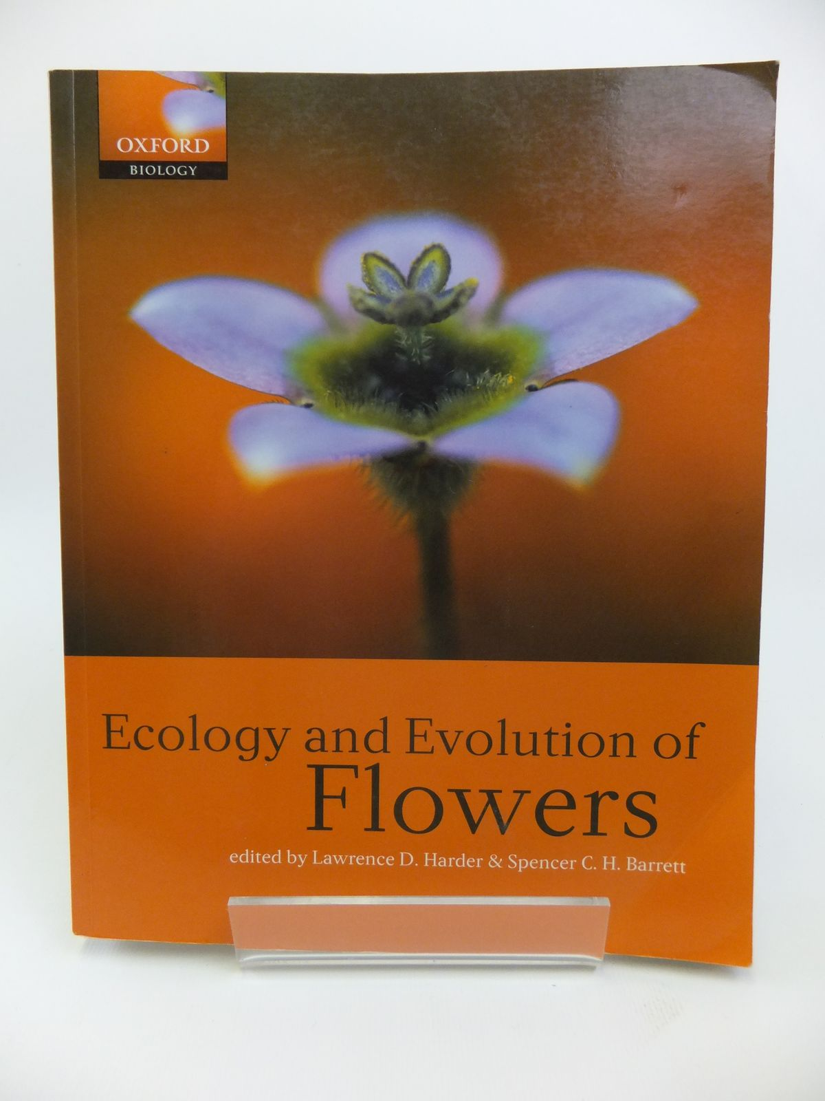 Photo of ECOLOGY AND EVOLUTION OF FLOWERS written by Harder, Lawrence<br />Barrett, Spencer C.H. published by Oxford University Press (STOCK CODE: 1811878)  for sale by Stella & Rose's Books