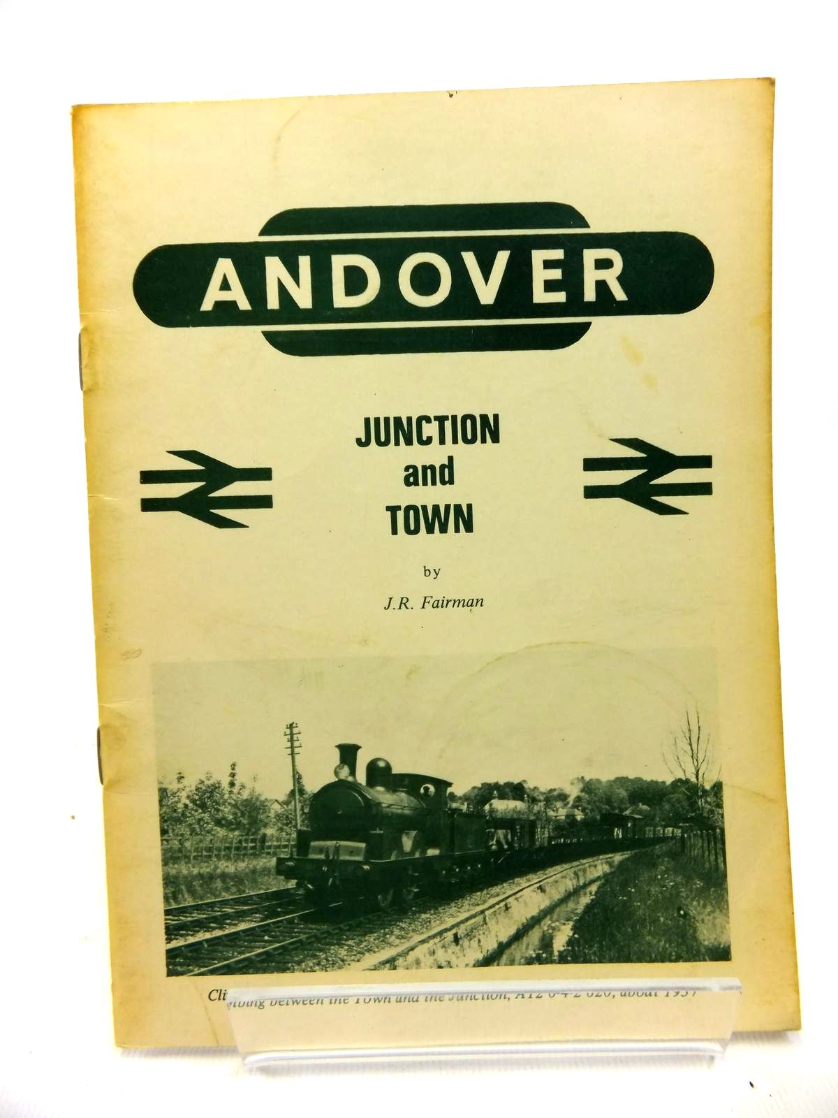Photo of ANDOVER JUNCTION AND TOWN written by Fairman, J.R. (STOCK CODE: 1811980)  for sale by Stella & Rose's Books