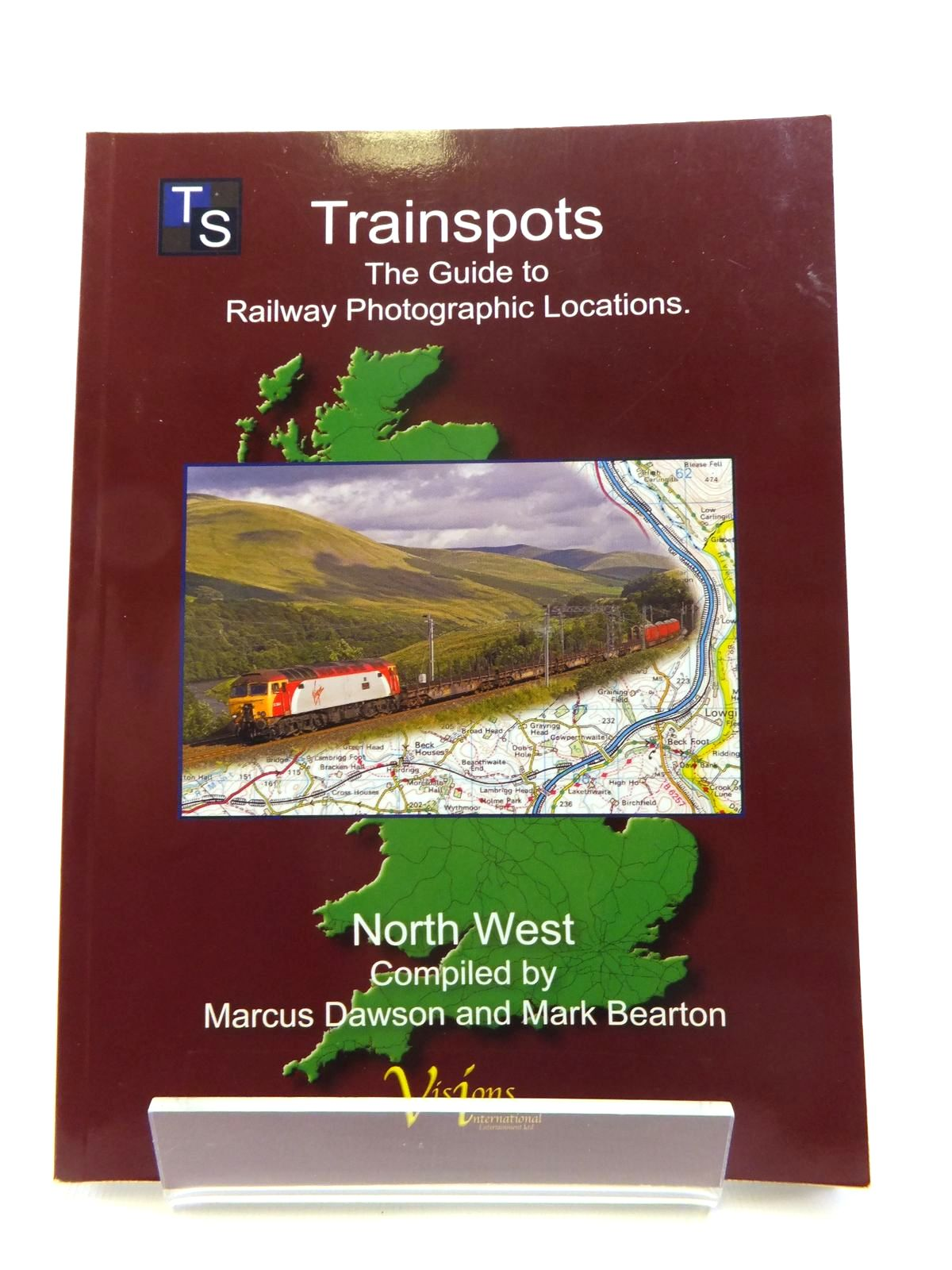 Photo of TRAINSPOTS THE GUIDE TO RAILWAY PHOTOGRAPHIC LOCATIONS NORTH WEST written by Dawson, Marcus<br />Bearton, Mark published by Visions International Entertainment Limited (STOCK CODE: 1812015)  for sale by Stella & Rose's Books