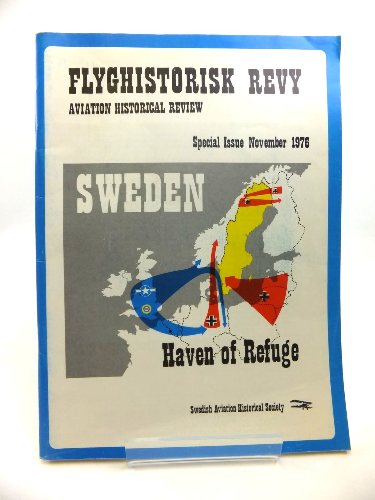 Photo of FLYGHISTORISK REVY AVIATION HISTORICAL REVIEW SPECIAL ISSUE NOVEMBER 1976 published by Swedish Aviation Historical Society (STOCK CODE: 1812075)  for sale by Stella & Rose's Books