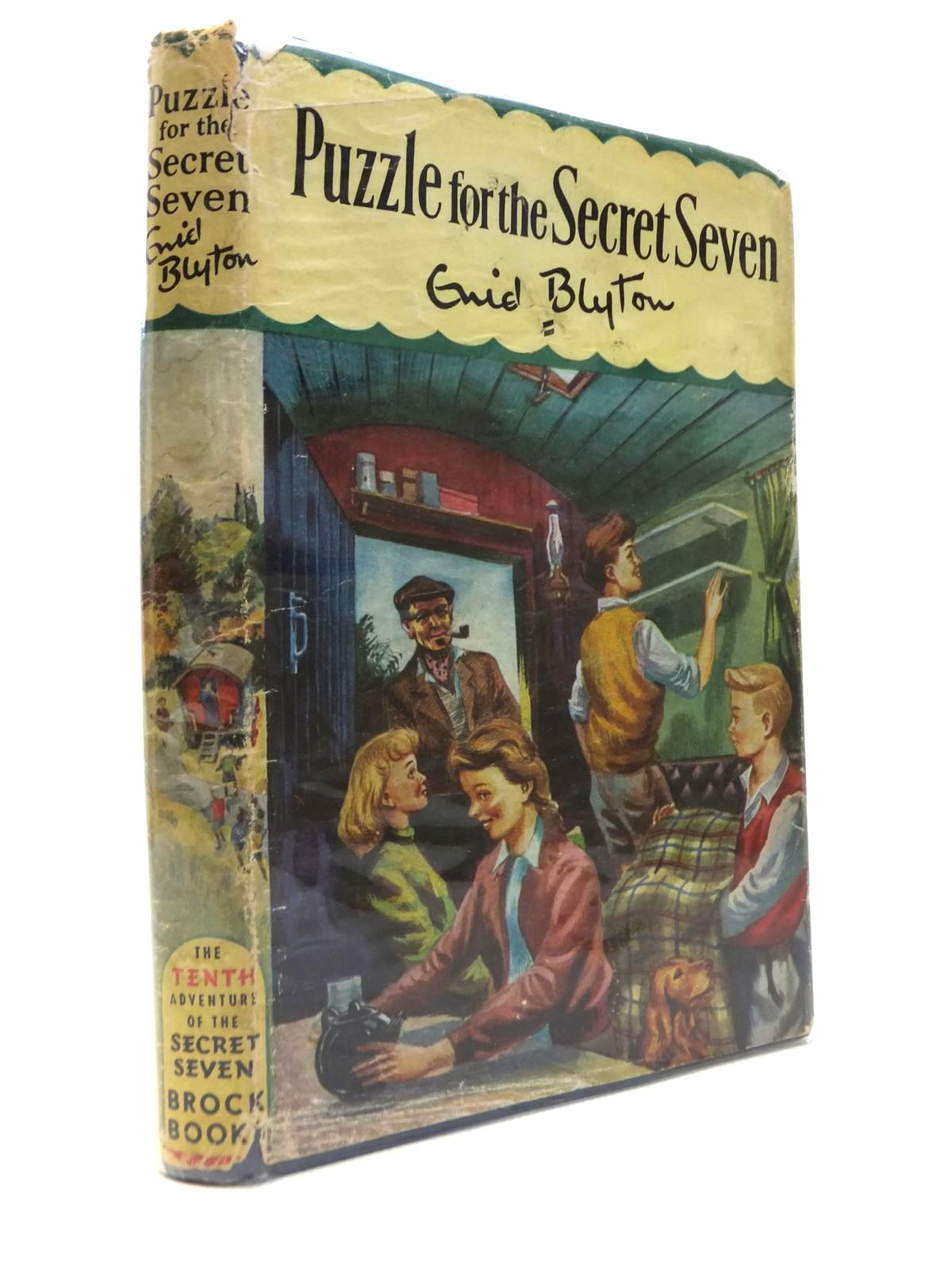 Photo of PUZZLE FOR THE SECRET SEVEN written by Blyton, Enid illustrated by Sharrocks, Burgess published by Brockhampton Press (STOCK CODE: 1812286)  for sale by Stella & Rose's Books
