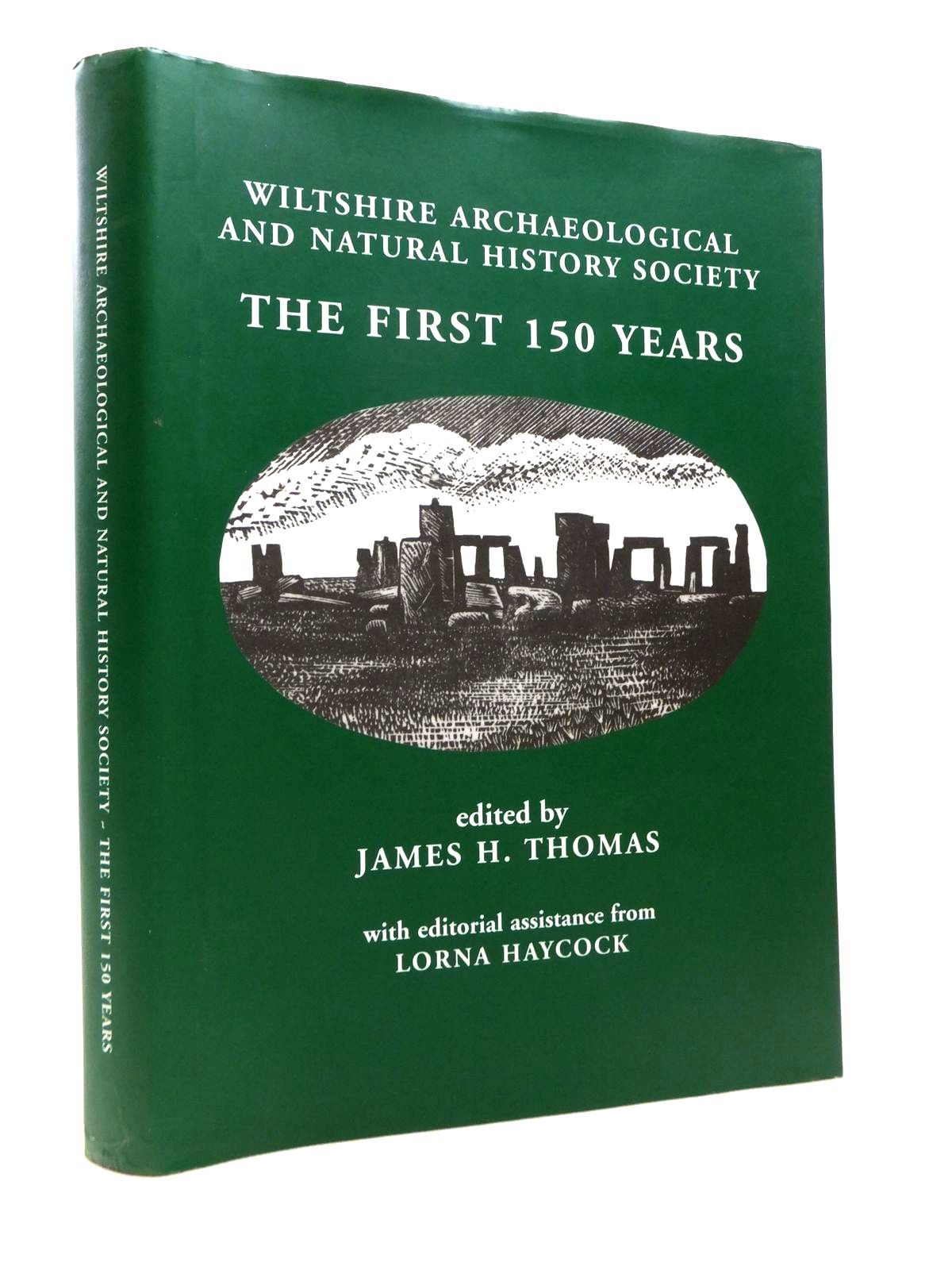 Photo of WILTSHIRE ARCHAEOLOGICAL AND NATURAL HISTORY SOCIETY: THE FIRST 150 YEARS written by Thomas, James H. published by W.A.N.H.S. Devizes (STOCK CODE: 1812292)  for sale by Stella & Rose's Books