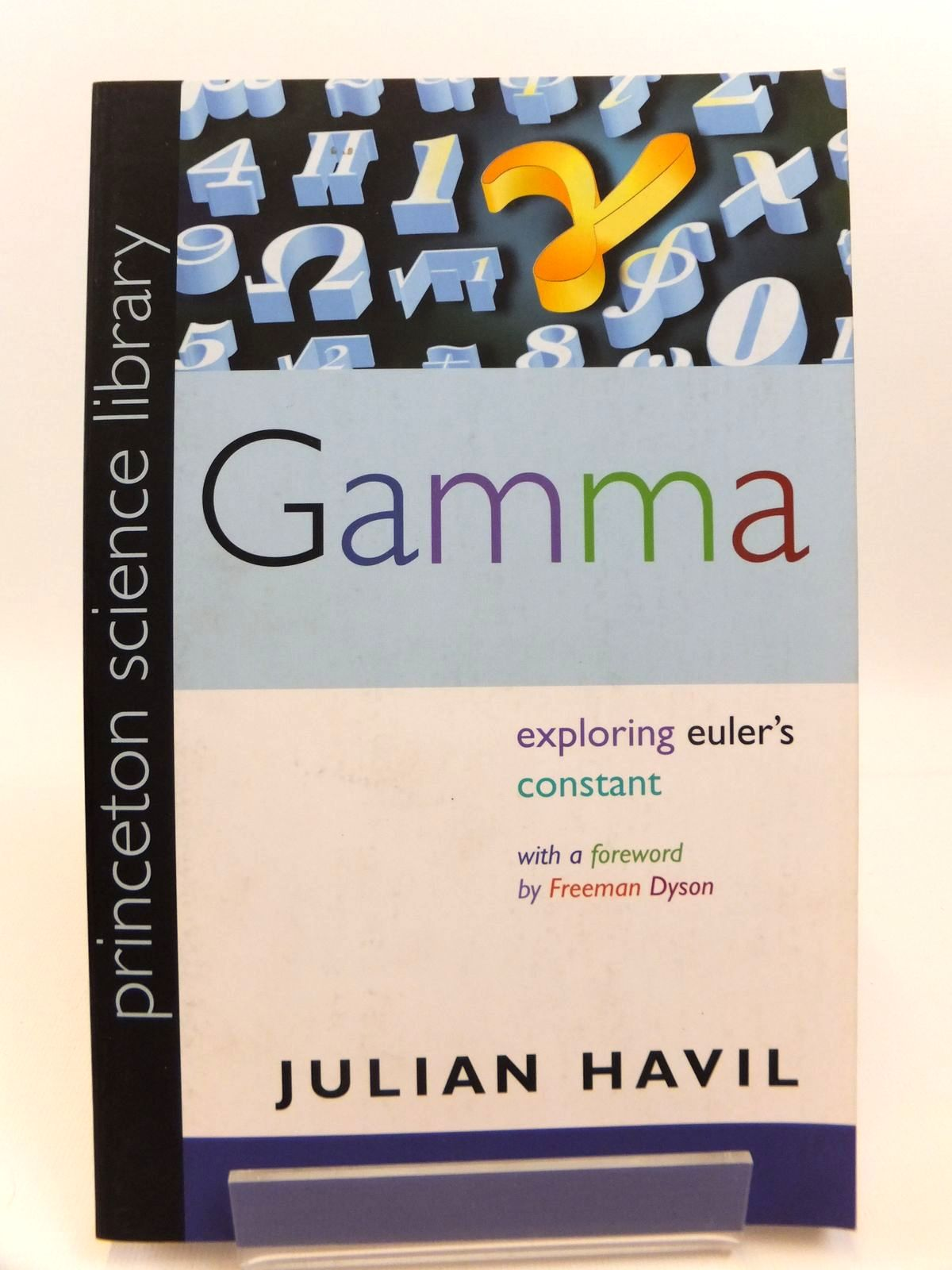 Photo of GAMMA: EXPLORING EULER'S CONSTANT written by Havil, Julian published by Princeton University Press (STOCK CODE: 1812449)  for sale by Stella & Rose's Books