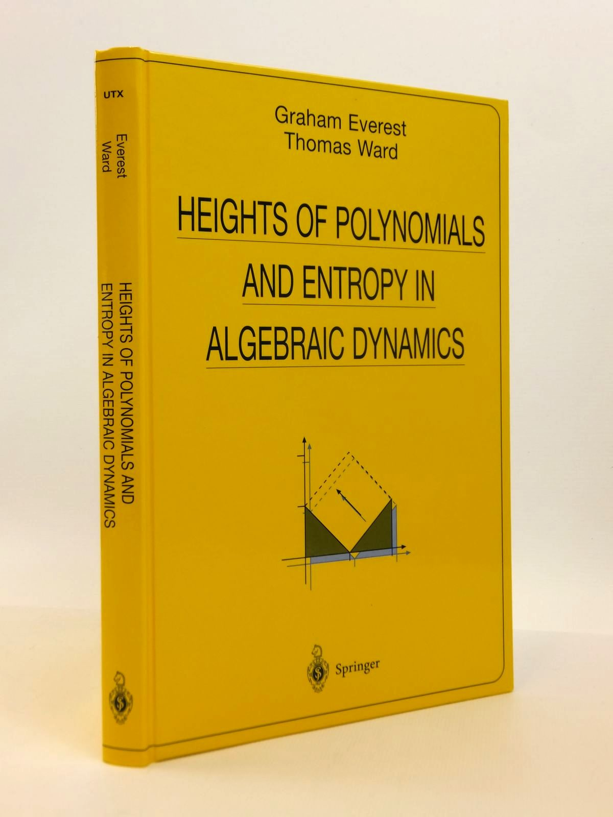 Photo of HEIGHTS OF POLYNOMIALS AND ENTROPY IN ALGEBRAIC DYNAMICS written by Everest, Graham<br />Ward, Thomas published by Springer (STOCK CODE: 1812511)  for sale by Stella & Rose's Books