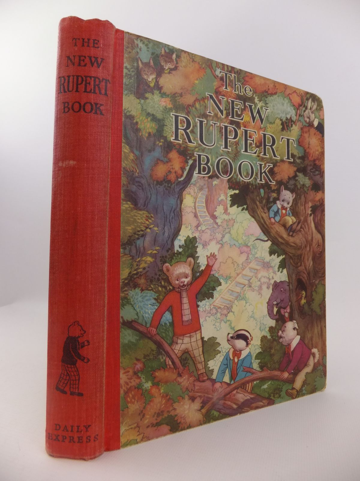 Photo of RUPERT ANNUAL 1938 - THE NEW RUPERT BOOK written by Bestall, Alfred illustrated by Bestall, Alfred published by Daily Express (STOCK CODE: 1812692)  for sale by Stella & Rose's Books