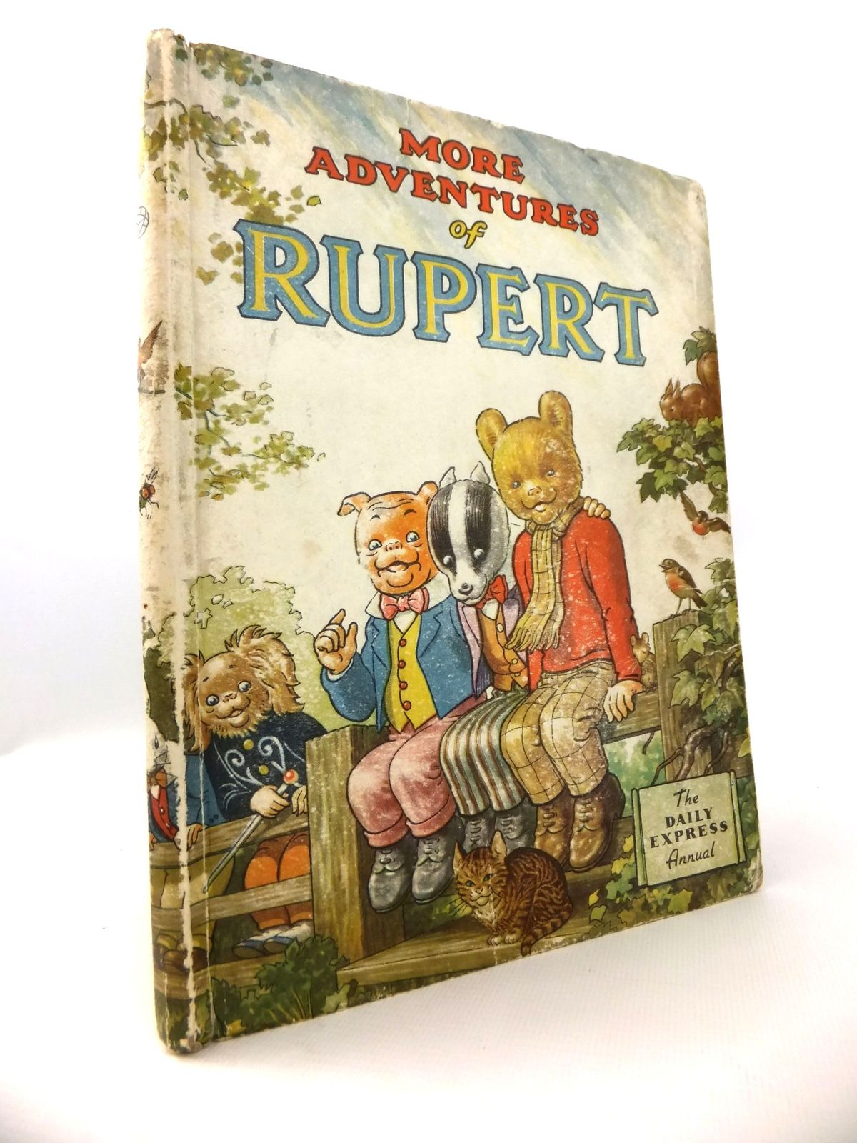 Photo of RUPERT ANNUAL 1953 - MORE ADVENTURES OF RUPERT written by Bestall, Alfred illustrated by Bestall, Alfred published by Daily Express (STOCK CODE: 1812695)  for sale by Stella & Rose's Books