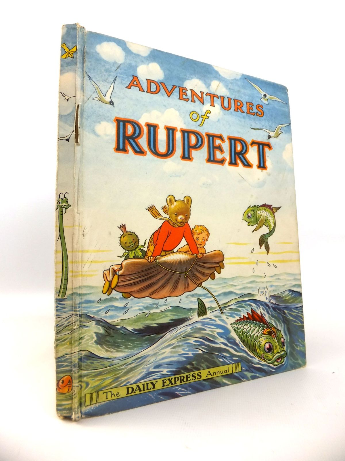 Photo of RUPERT ANNUAL 1950 - ADVENTURES OF RUPERT written by Bestall, Alfred illustrated by Bestall, Alfred published by Daily Express (STOCK CODE: 1812697)  for sale by Stella & Rose's Books