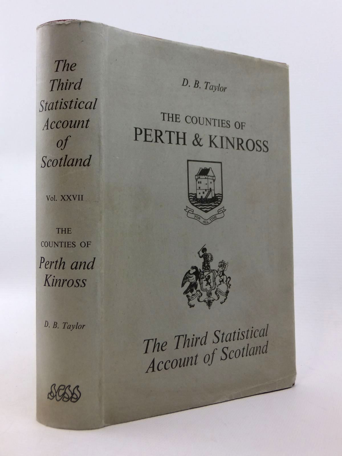 Photo of THE THIRD STATISTICAL ACCOUNT OF SCOTLAND VOL. XXVII THE COUNTIES OF PERTH AND KINROSS written by Taylor, David B. published by Culross Printers Coupar Angus (STOCK CODE: 1812763)  for sale by Stella & Rose's Books