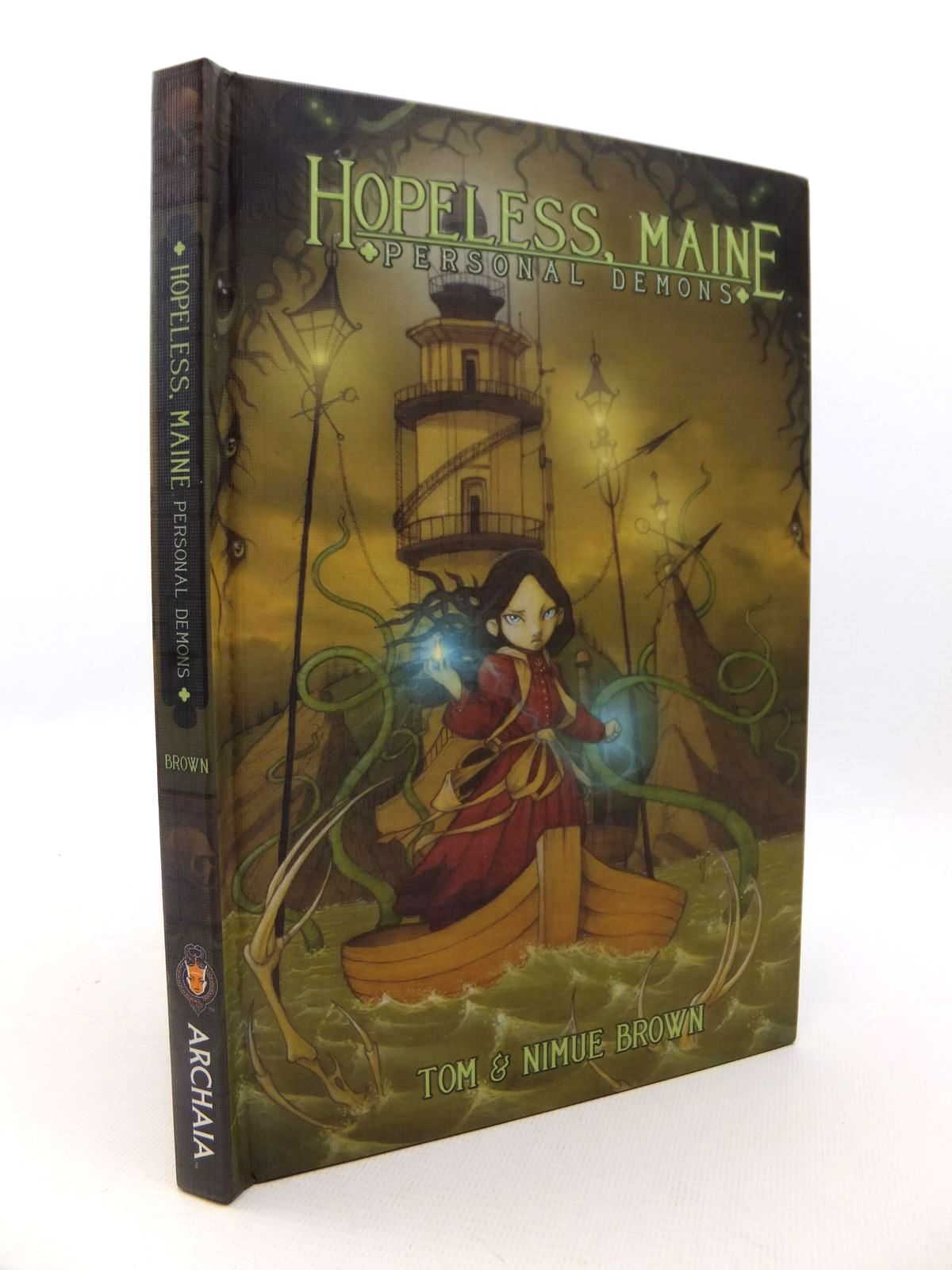 Photo of HOPELESS, MAINE: PERSONAL DEMONS written by Brown, Tom<br />Brown, Nimue illustrated by Browne, Tom published by Archaia (STOCK CODE: 1812844)  for sale by Stella & Rose's Books