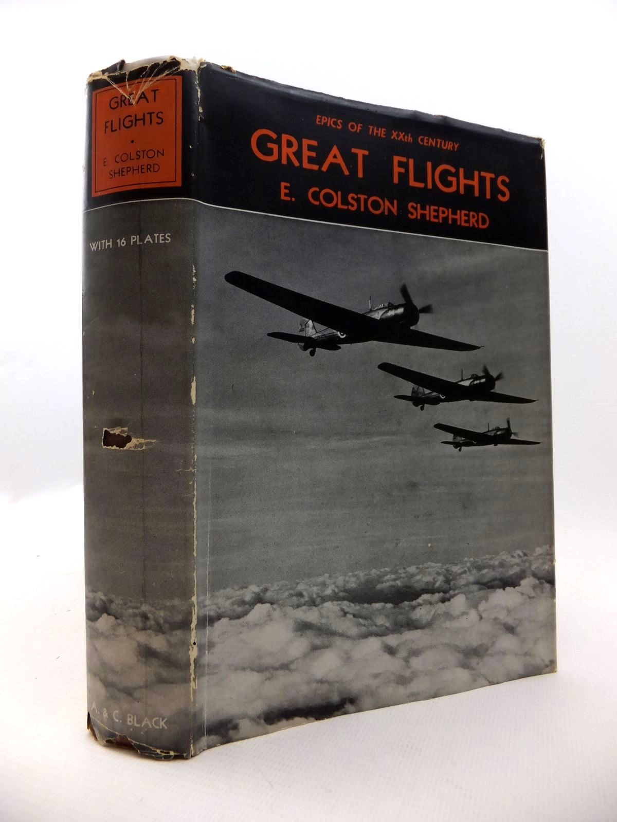 Photo of GREAT FLIGHTS written by Shepherd, E. Colston published by Adam & Charles Black (STOCK CODE: 1812900)  for sale by Stella & Rose's Books