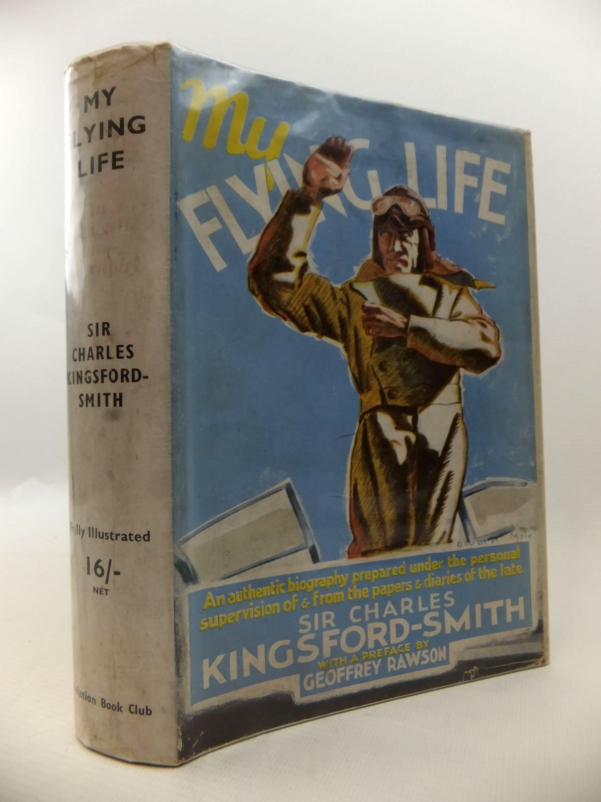 Photo of MY FLYING LIFE written by Kingsford-Smith, Charles published by The Aviation Book Club (STOCK CODE: 1812932)  for sale by Stella & Rose's Books