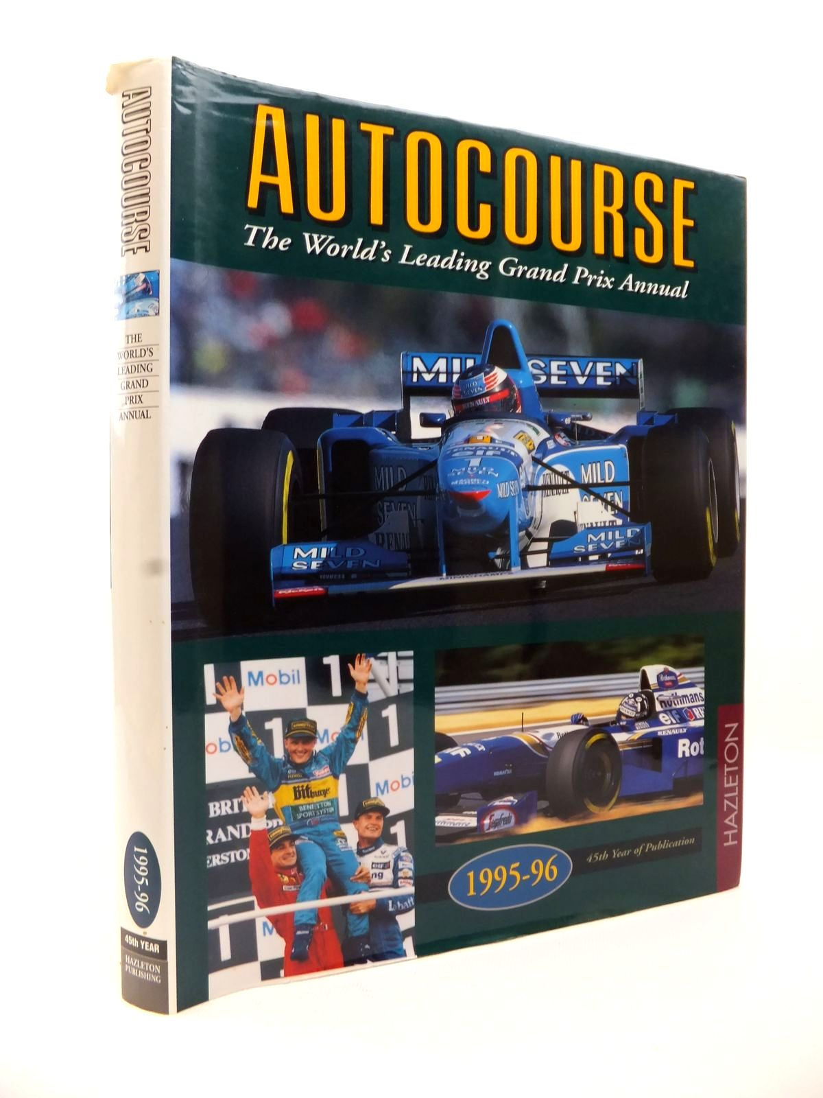 Photo of AUTOCOURSE 1995-1996 published by Hazleton Publishing (STOCK CODE: 1813207)  for sale by Stella & Rose's Books