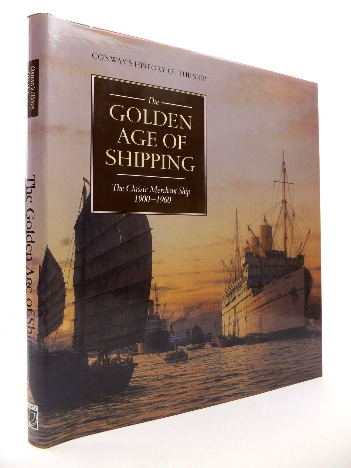 Photo of THE GOLDEN AGE OF SHIPPING: THE CLASSIC MERCHANT SHIP 1900-1960 written by Gardiner, Robert<br />Greenway, Ambrose<br />et al,  published by Conway Maritime Press (STOCK CODE: 1813255)  for sale by Stella & Rose's Books