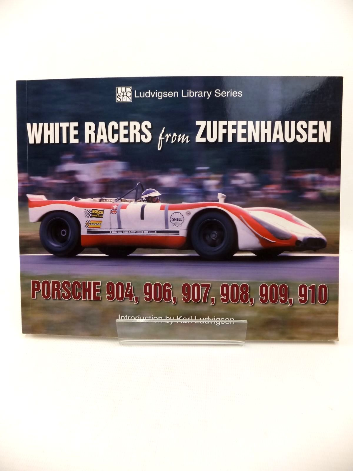 Photo of WHITE RACERS FROM ZUFFENHAUSEN written by Ludvigsen, Karl published by Iconografix (STOCK CODE: 1813385)  for sale by Stella & Rose's Books