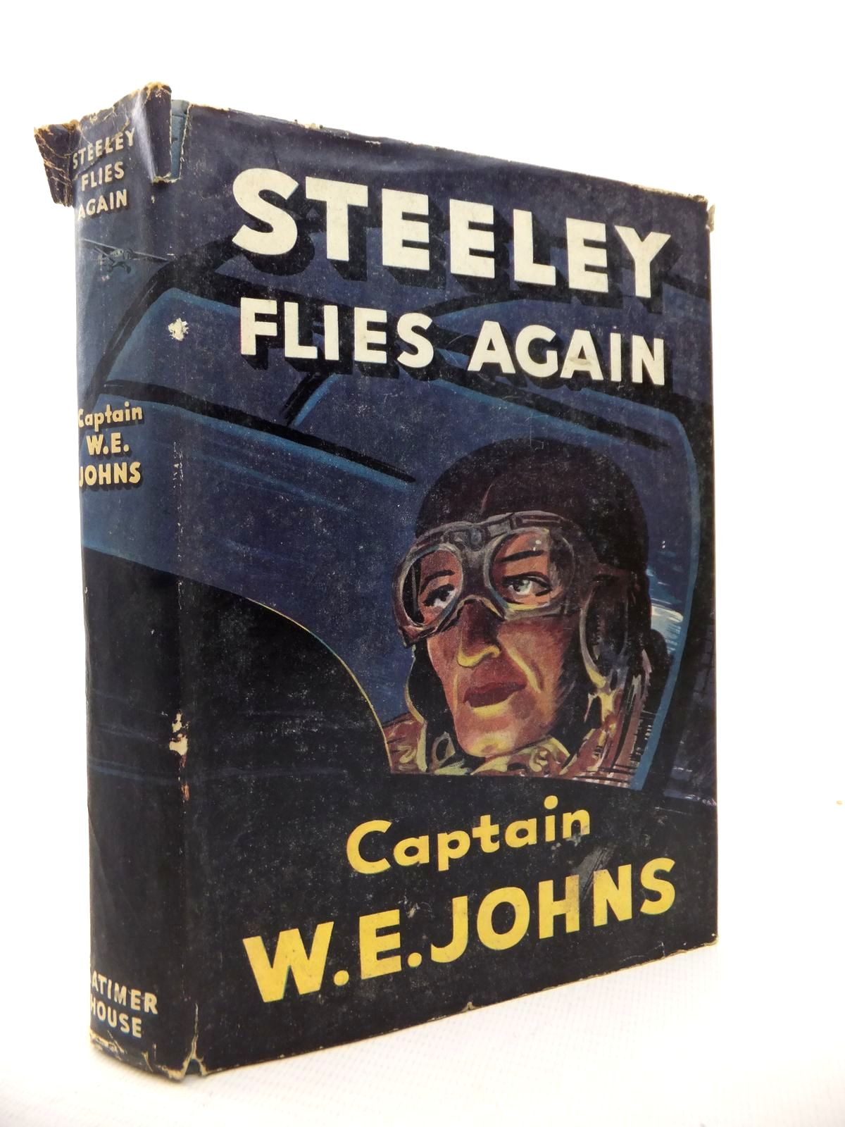 Photo of STEELEY FLIES AGAIN written by Johns, W.E. published by Latimer House Limited (STOCK CODE: 1813658)  for sale by Stella & Rose's Books