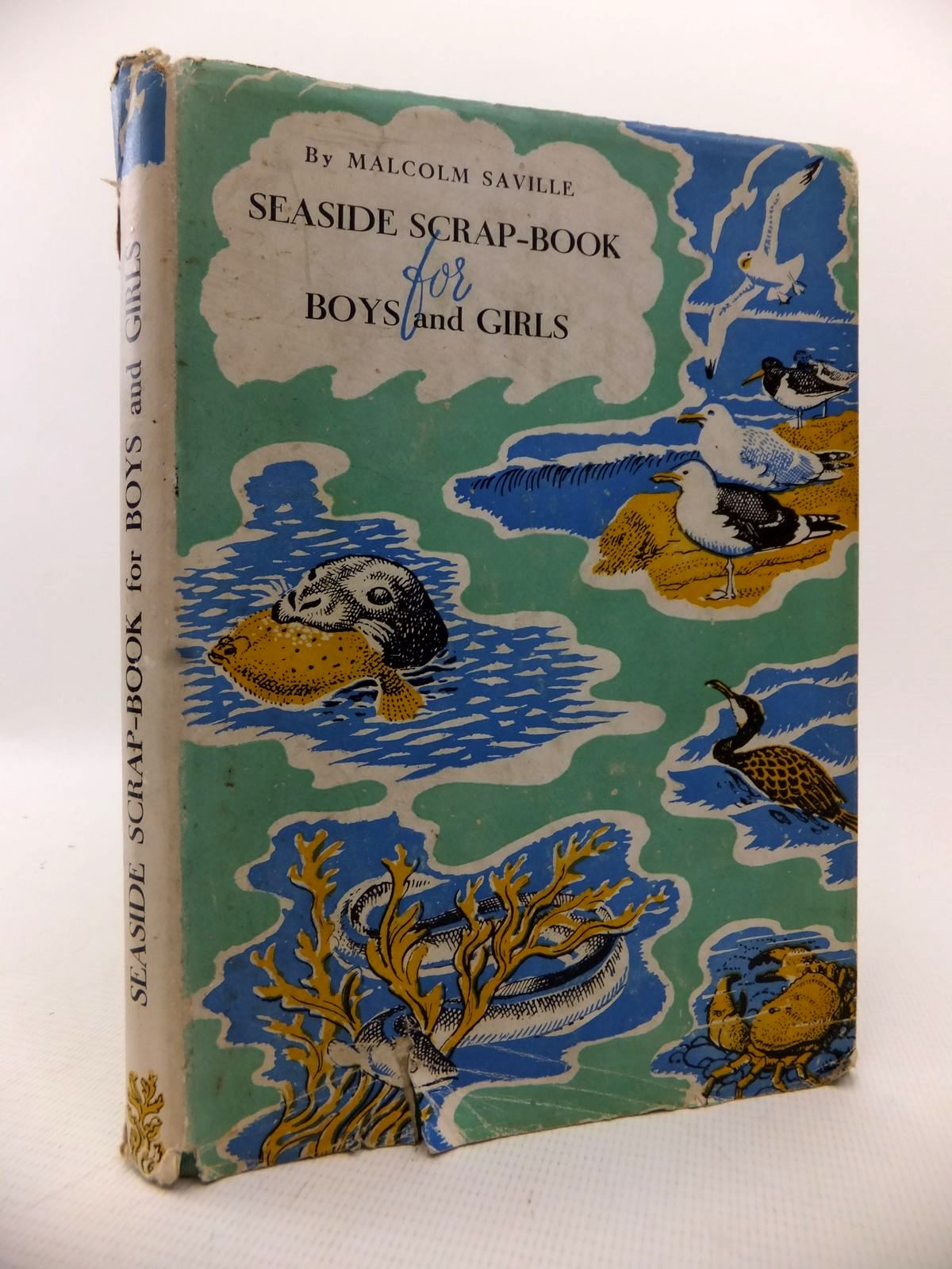 Photo of SEASIDE SCRAP-BOOK FOR BOYS AND GIRLS written by Saville, Malcolm published by Gramol Publications Ltd. (STOCK CODE: 1813671)  for sale by Stella & Rose's Books