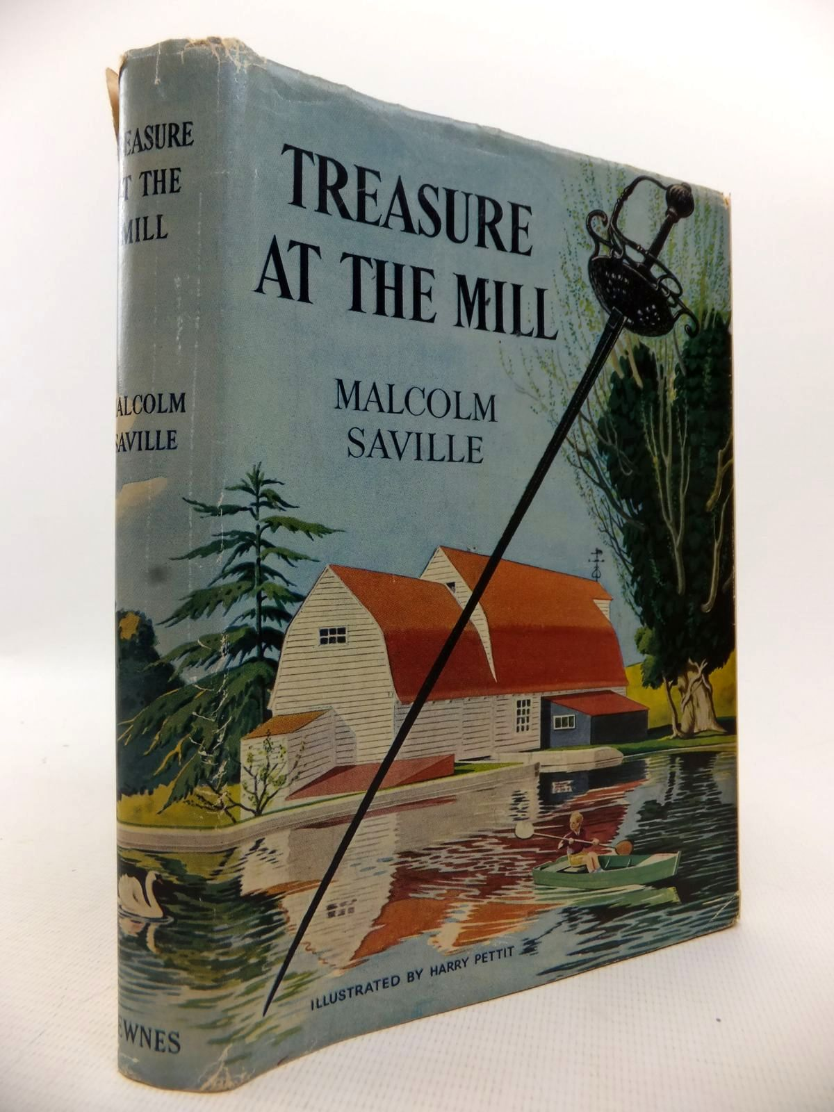 Photo of TREASURE AT THE MILL written by Saville, Malcolm illustrated by Pettit, Harry published by George Newnes (STOCK CODE: 1813677)  for sale by Stella & Rose's Books