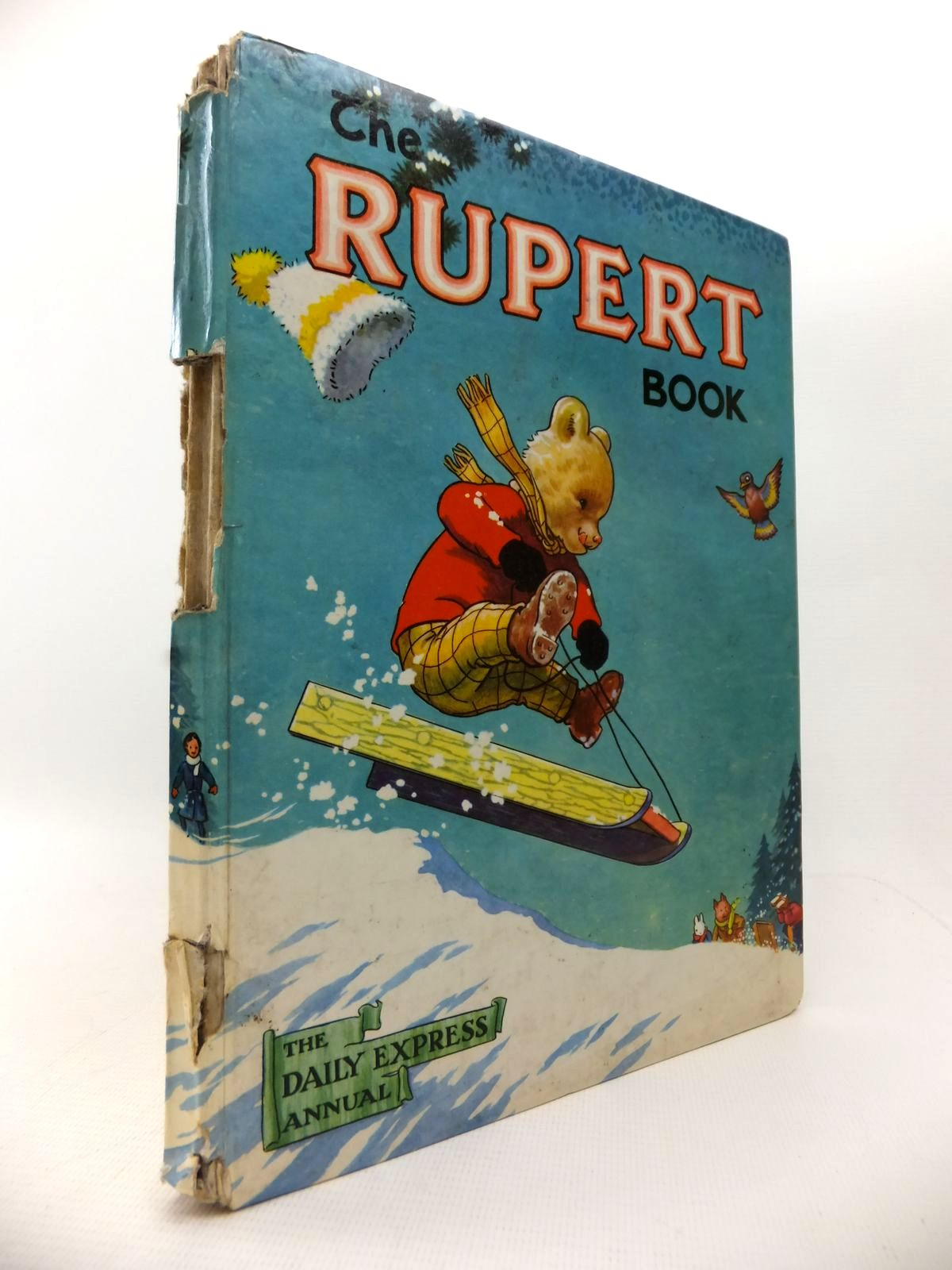 Photo of RUPERT ANNUAL 1956 - THE RUPERT BOOK written by Bestall, Alfred illustrated by Bestall, Alfred published by Oldbourne Book Co. Ltd. (STOCK CODE: 1813764)  for sale by Stella & Rose's Books