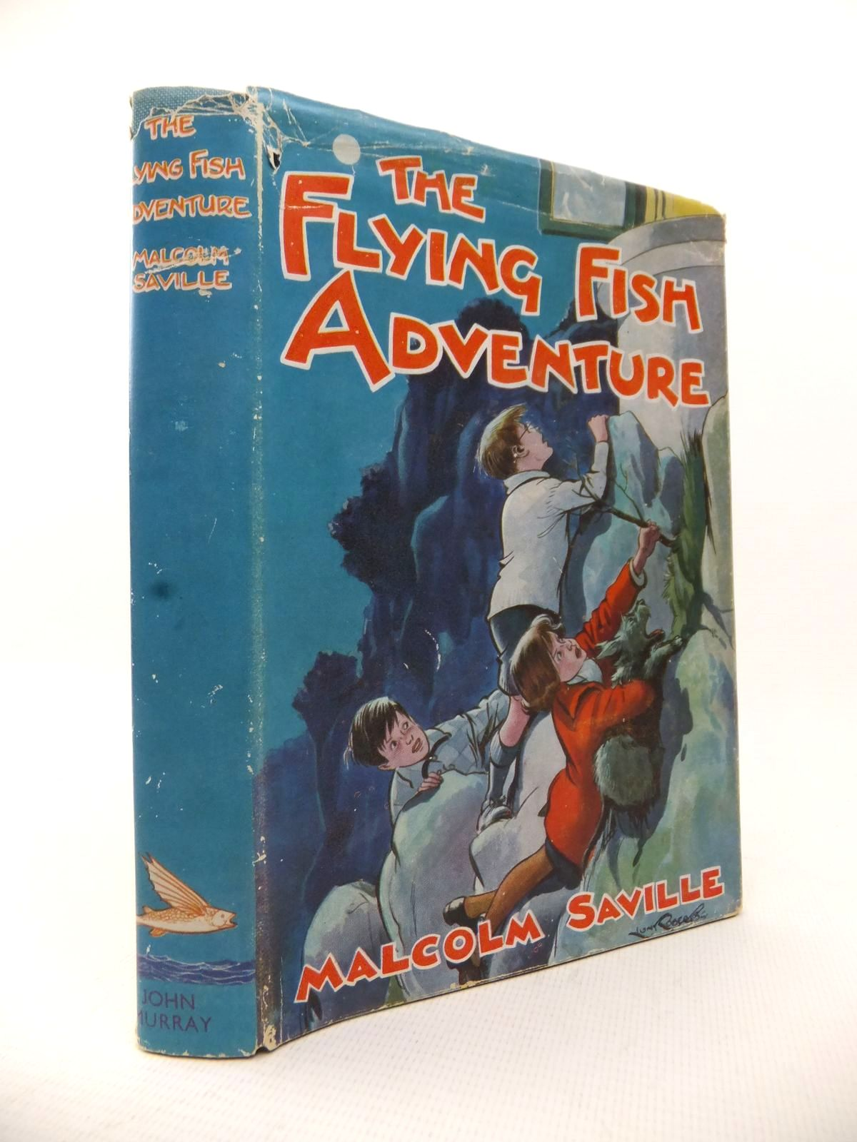 Photo of THE FLYING FISH ADVENTURE written by Saville, Malcolm illustrated by Roberts, Lunt published by John Murray (STOCK CODE: 1813772)  for sale by Stella & Rose's Books