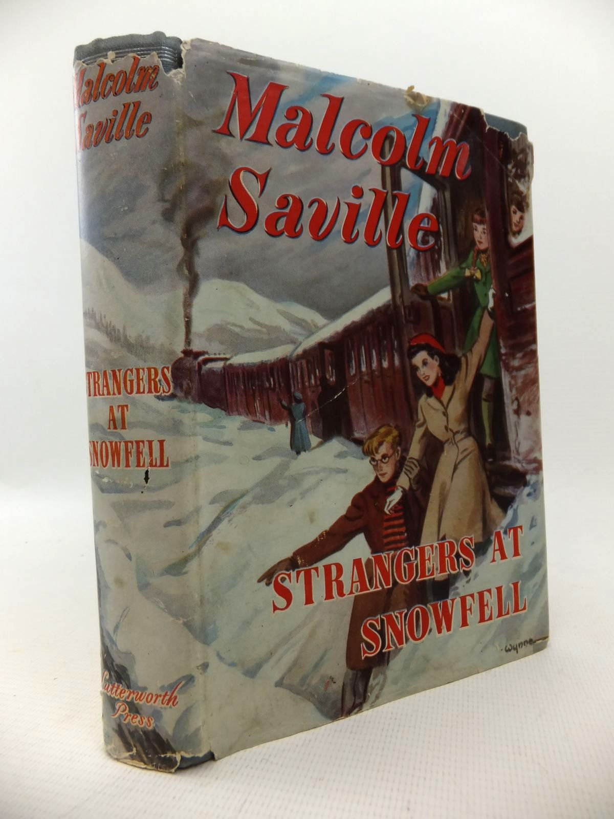 Photo of STRANGERS AT SNOWFELL written by Saville, Malcolm illustrated by Wynne,  published by Lutterworth Press (STOCK CODE: 1813774)  for sale by Stella & Rose's Books