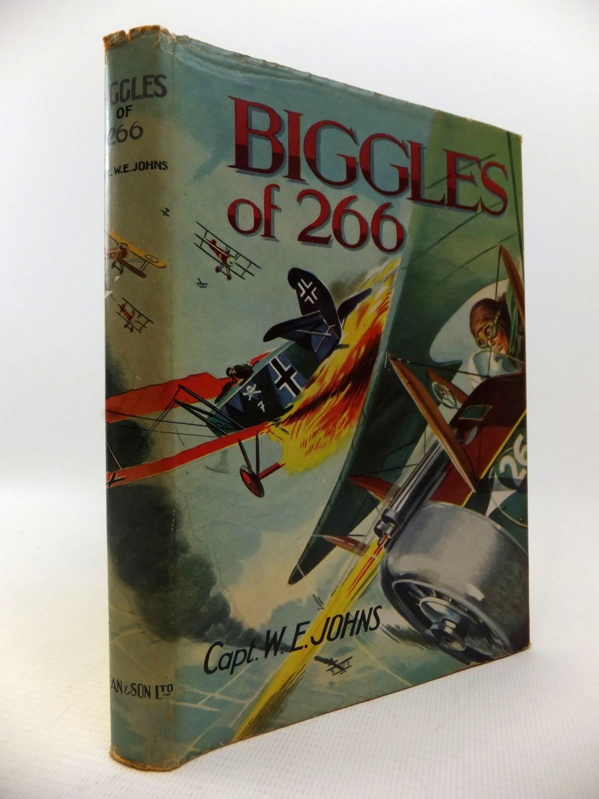 Photo of BIGGLES OF 266 written by Johns, W.E. published by Dean & Son Ltd. (STOCK CODE: 1813788)  for sale by Stella & Rose's Books