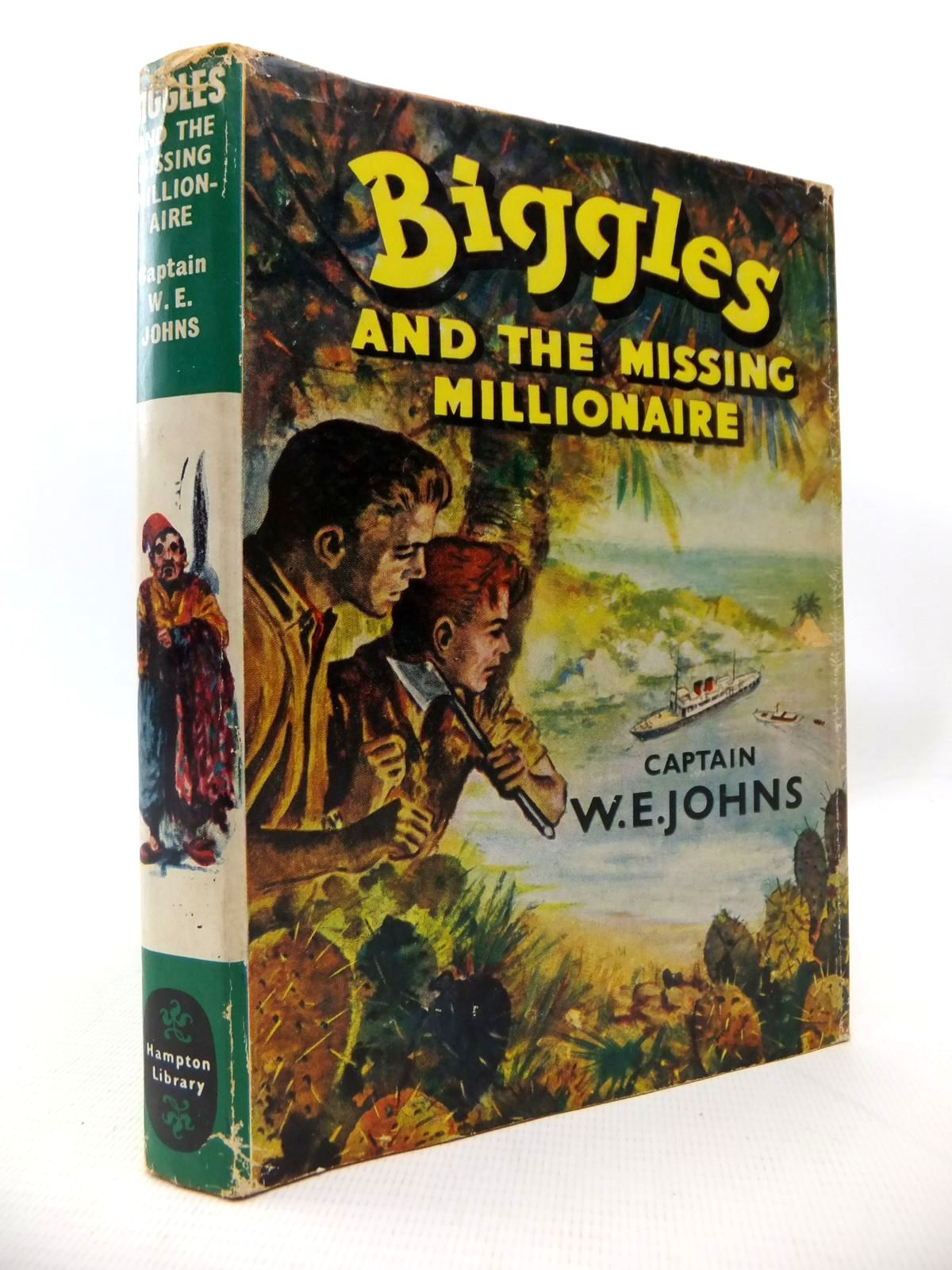 Photo of BIGGLES AND THE MISSING MILLIONAIRE written by Johns, W.E. published by Brockhampton Press (STOCK CODE: 1813839)  for sale by Stella & Rose's Books