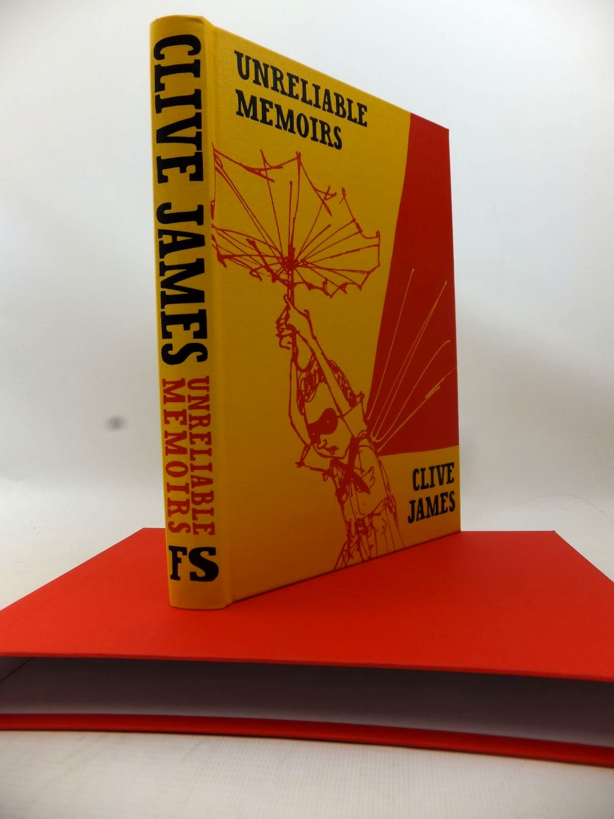 Photo of UNRELIABLE MEMOIRS written by James, Clive illustrated by Le Bec, Yann published by Folio Society (STOCK CODE: 1813900)  for sale by Stella & Rose's Books