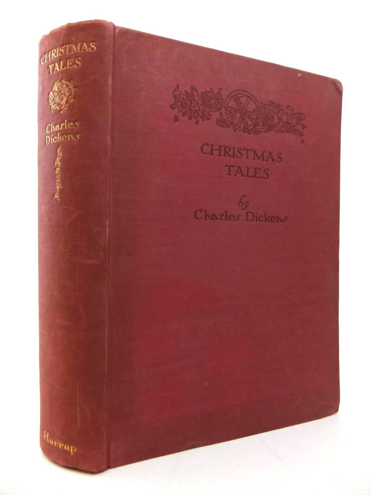 Photo of CHRISTMAS TALES written by Dickens, Charles illustrated by Brock, H.M. published by George G. Harrap & Co. Ltd. (STOCK CODE: 1814154)  for sale by Stella & Rose's Books