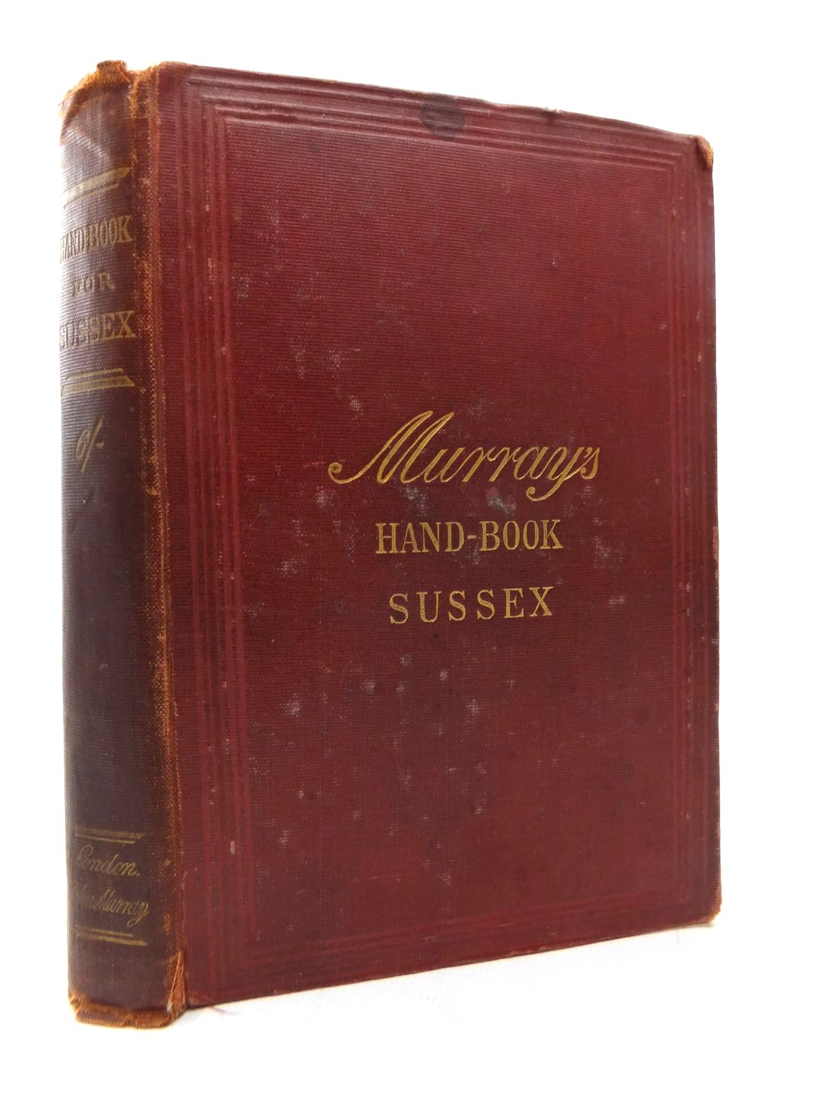 Photo of HANDBOOK FOR TRAVELLERS IN SUSSEX published by John Murray (STOCK CODE: 1814229)  for sale by Stella & Rose's Books