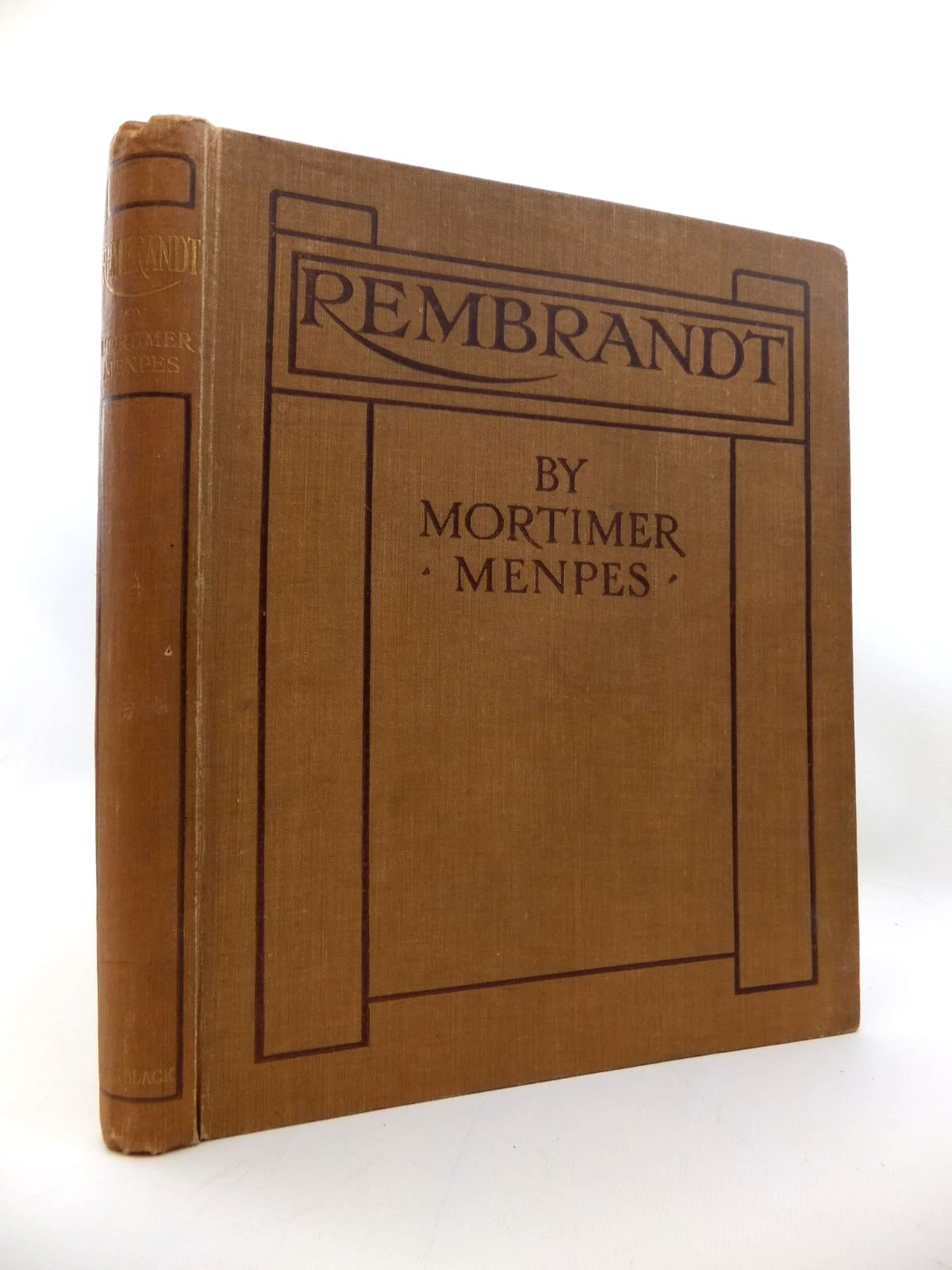 Photo of REMBRANDT written by Menpes, Mortimer<br />Hind, C. Lewis illustrated by Rembrandt,  published by Adam & Charles Black (STOCK CODE: 1814271)  for sale by Stella & Rose's Books