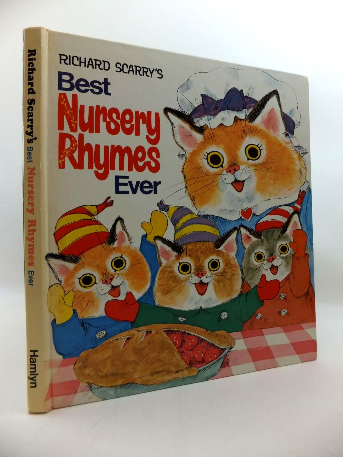 Photo of RICHARD SCARRY'S BEST NURSERY RHYMES EVER written by Scarry, Richard illustrated by Scarry, Richard published by Hamlyn (STOCK CODE: 1814298)  for sale by Stella & Rose's Books