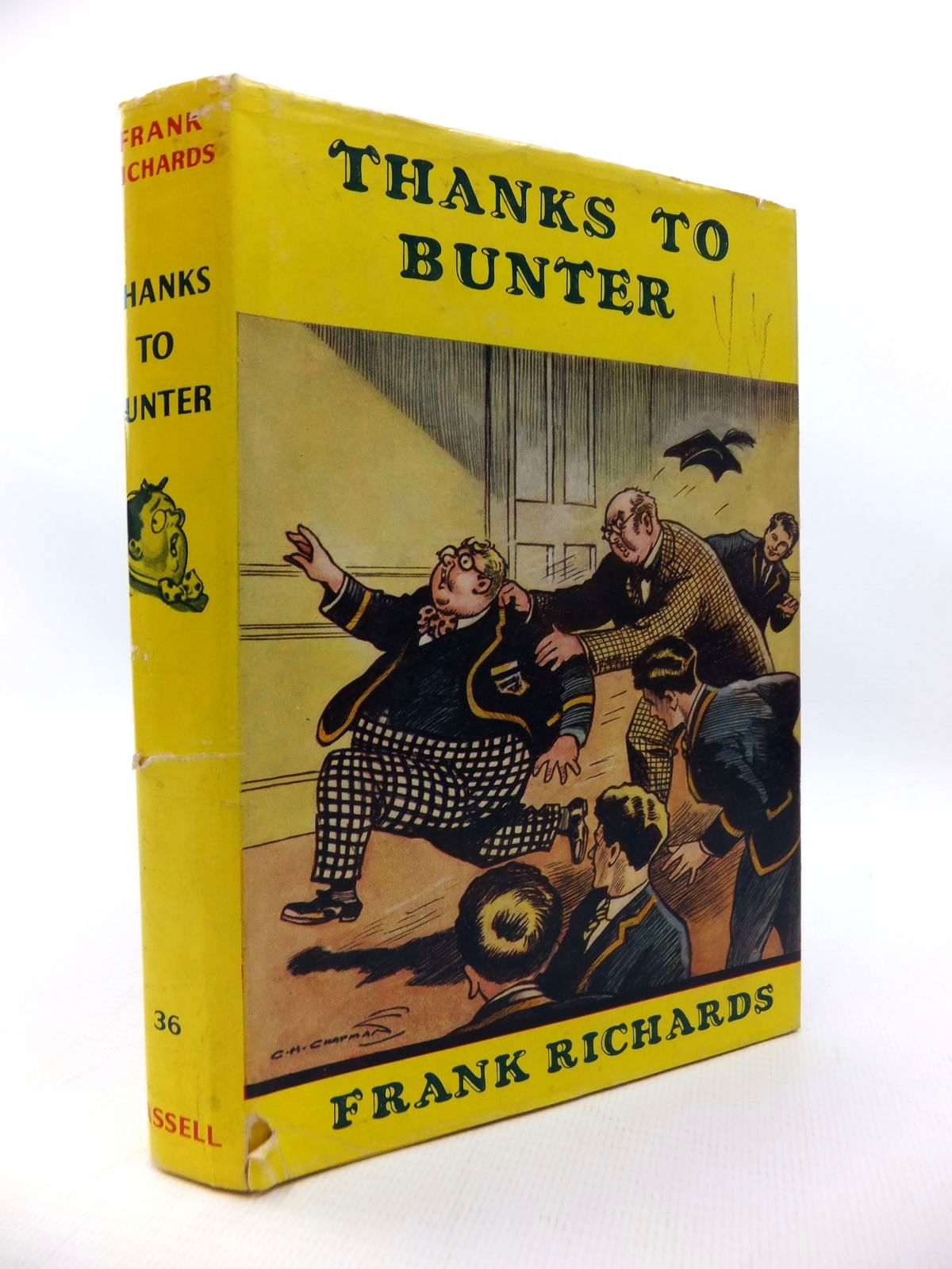 Photo of THANKS TO BUNTER written by Richards, Frank illustrated by Chapman, C.H. published by Cassell (STOCK CODE: 1814369)  for sale by Stella & Rose's Books