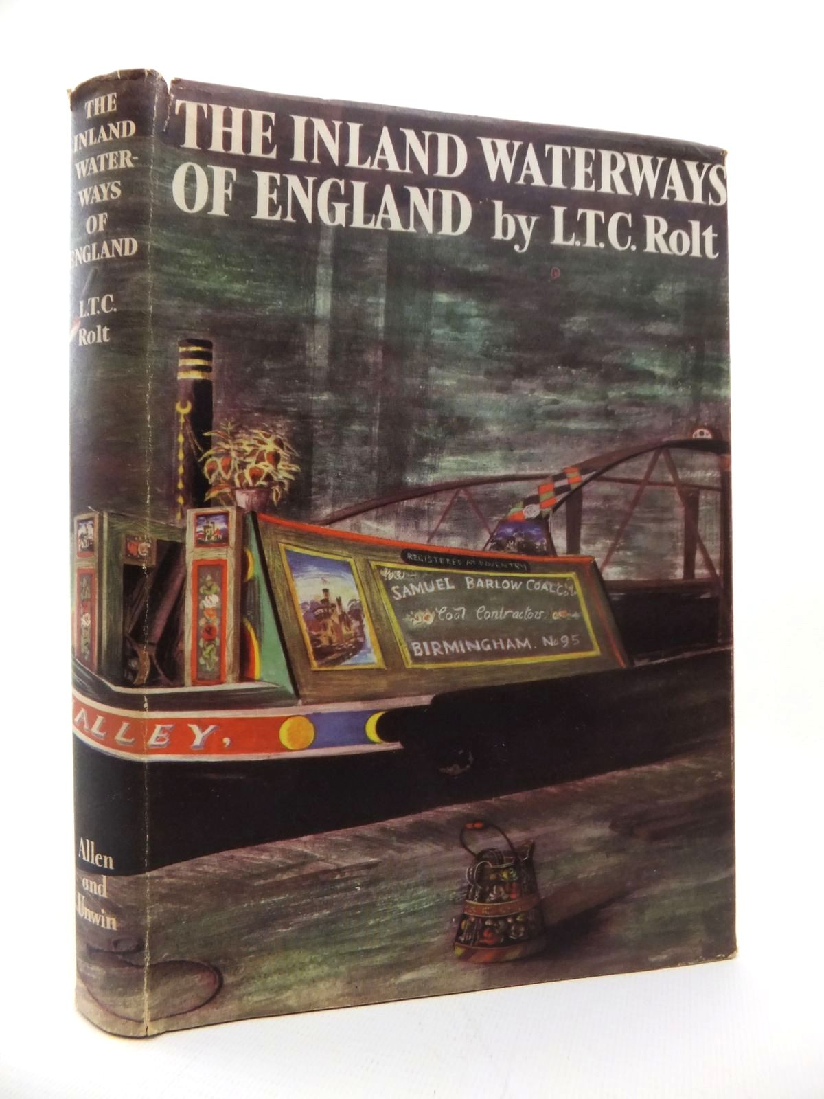 Photo of THE INLAND WATERWAYS OF ENGLAND written by Rolt, L.T.C. published by George Allen & Unwin Ltd. (STOCK CODE: 1814385)  for sale by Stella & Rose's Books