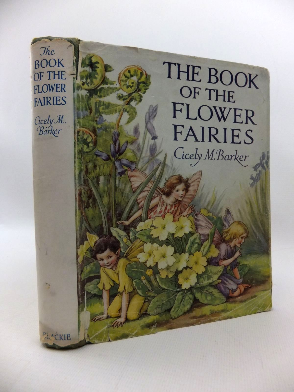 Photo of THE BOOK OF THE FLOWER FAIRIES written by Barker, Cicely Mary illustrated by Barker, Cicely Mary published by Blackie & Son Ltd. (STOCK CODE: 1814562)  for sale by Stella & Rose's Books