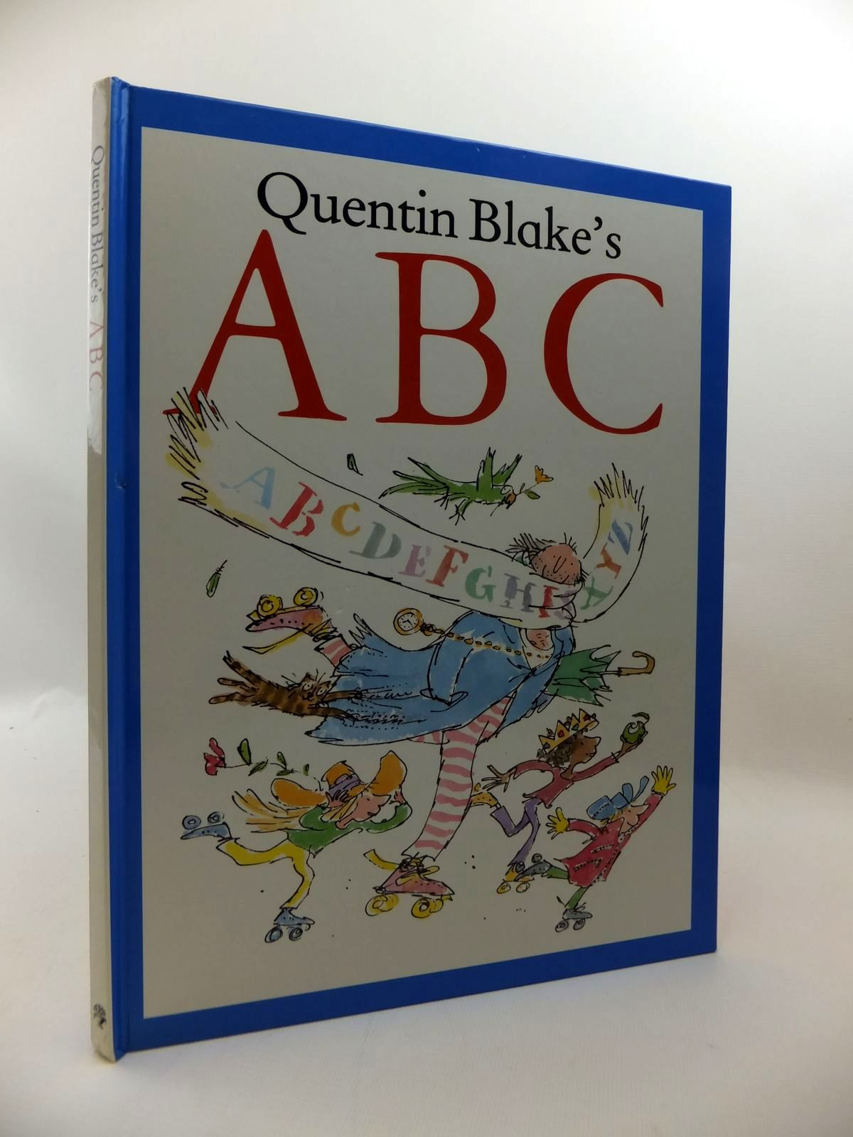 Photo of QUENTIN BLAKE'S ABC written by Blake, Quentin illustrated by Blake, Quentin published by Jonathan Cape (STOCK CODE: 1814599)  for sale by Stella & Rose's Books