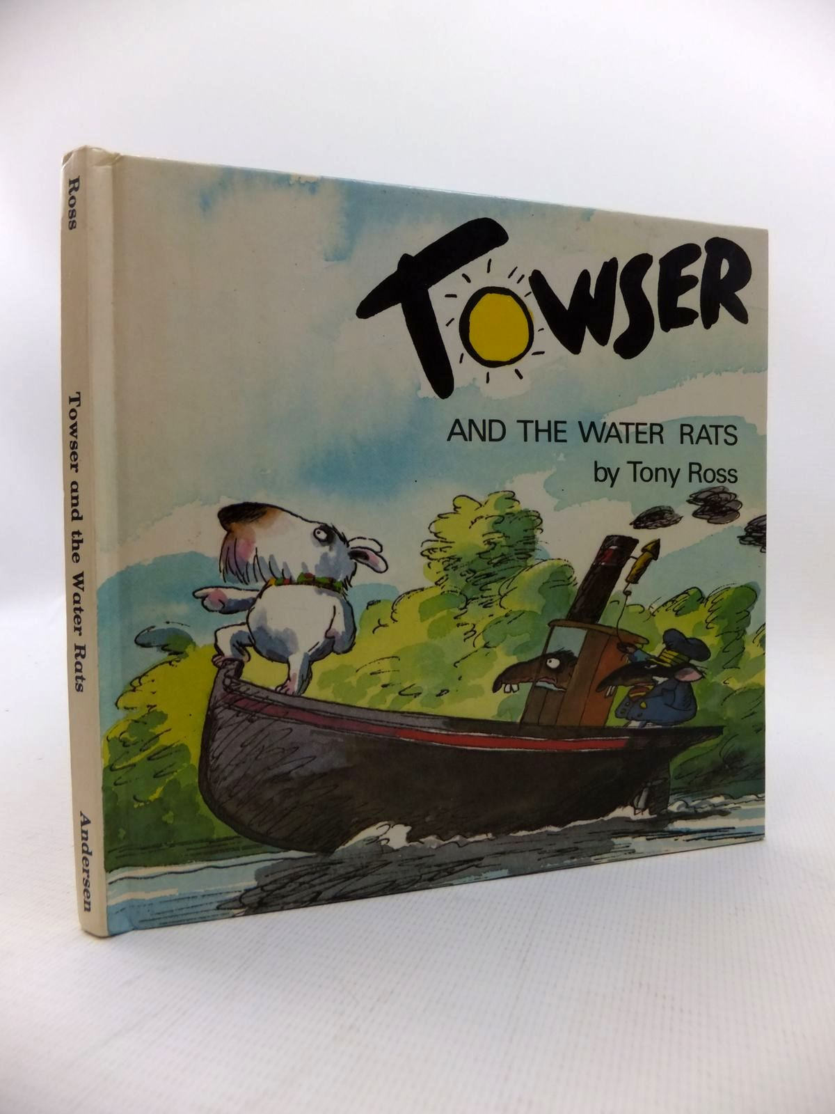 Photo of TOWSER AND THE WATER RATS written by Ross, Tony illustrated by Ross, Tony published by Andersen Press (STOCK CODE: 1814605)  for sale by Stella & Rose's Books