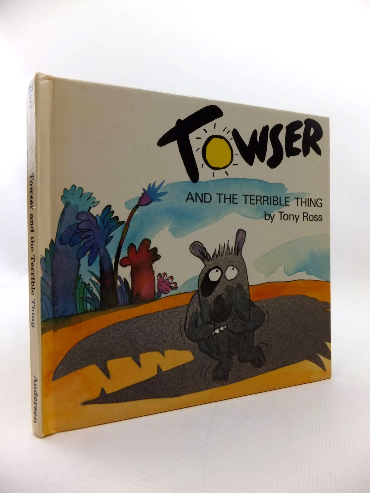 Photo of TOWSER AND THE TERRIBLE THING written by Ross, Tony illustrated by Ross, Tony published by Anderson Press (STOCK CODE: 1814608)  for sale by Stella & Rose's Books