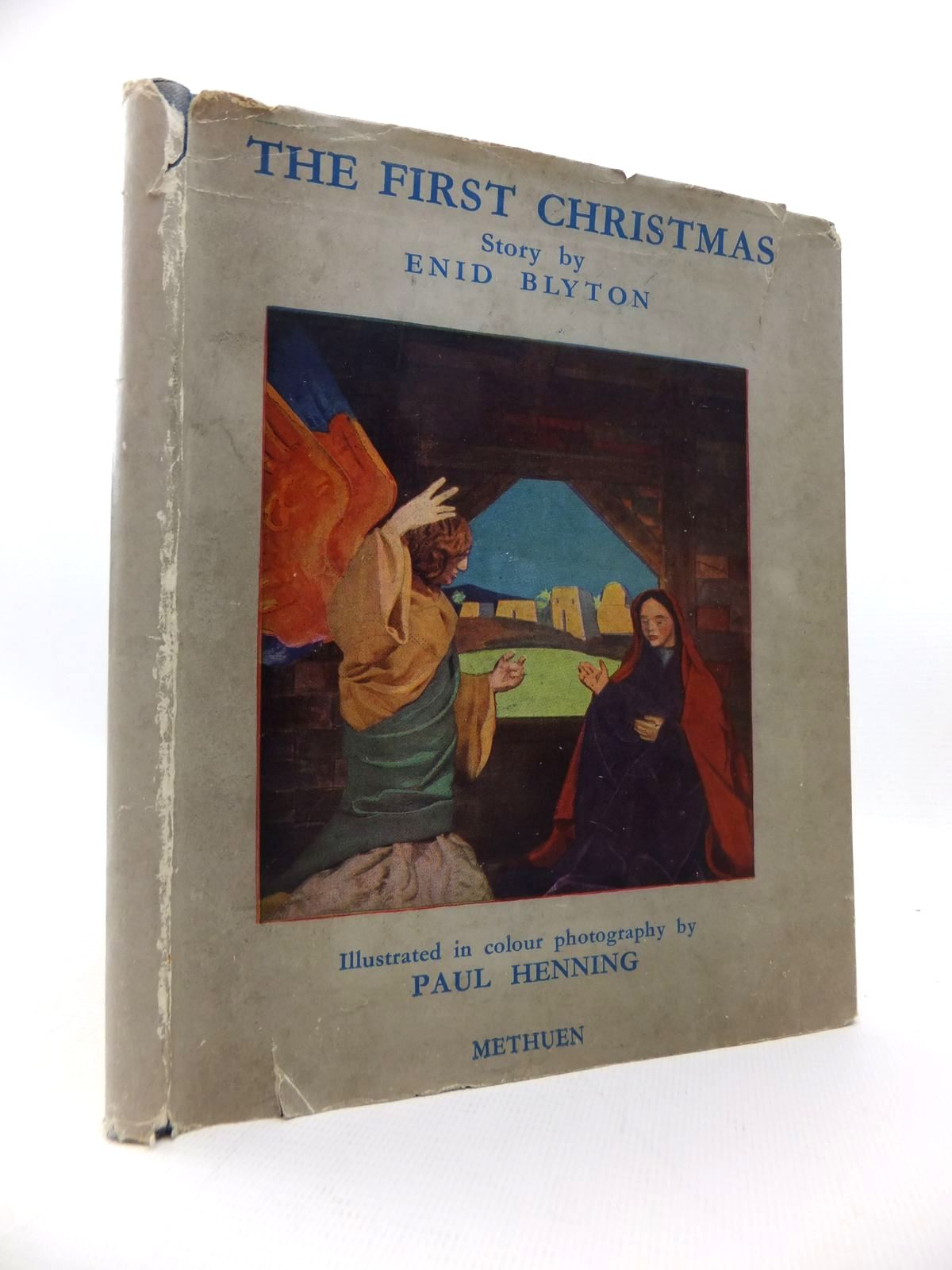 Photo of THE FIRST CHRISTMAS written by Blyton, Enid illustrated by Henning, Paul<br />Weissenborn, Hellmuth published by Methuen & Co. Ltd. (STOCK CODE: 1814690)  for sale by Stella & Rose's Books