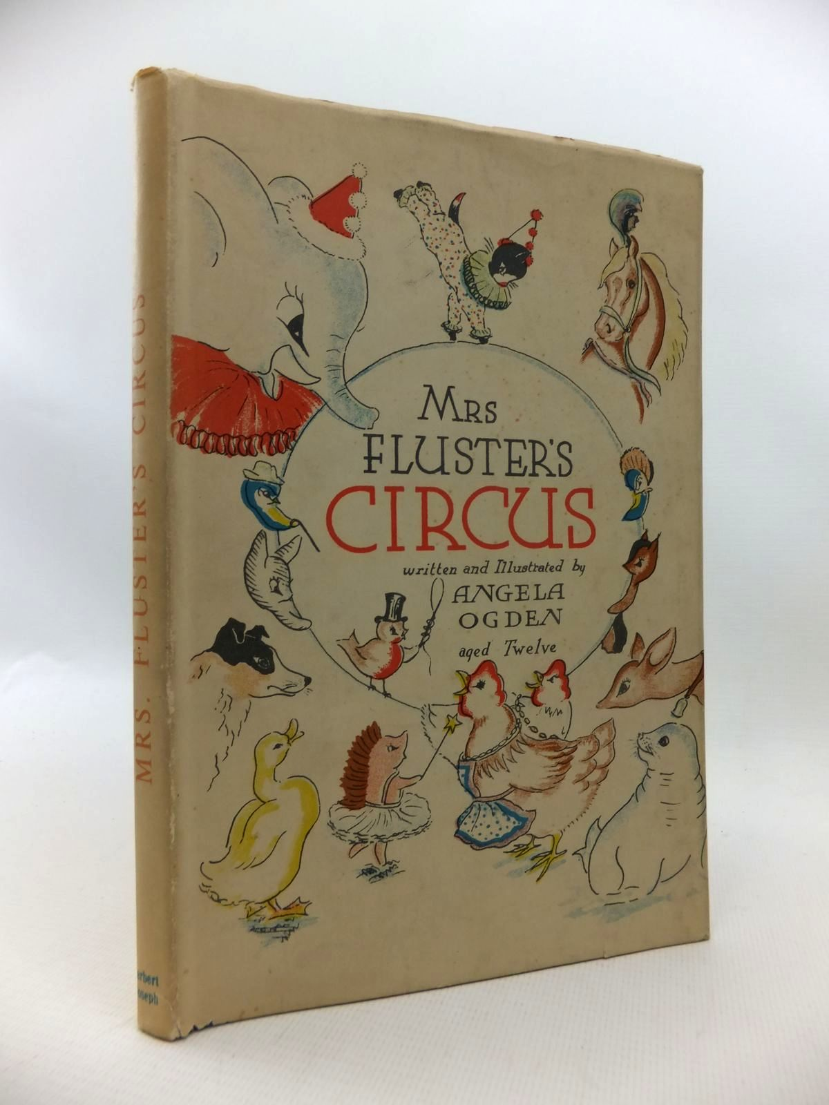 Photo of MRS. FLUSTER'S CIRCUS written by Ogden, Angela illustrated by Ogden, Angela published by Herbert Joseph Limited (STOCK CODE: 1814700)  for sale by Stella & Rose's Books