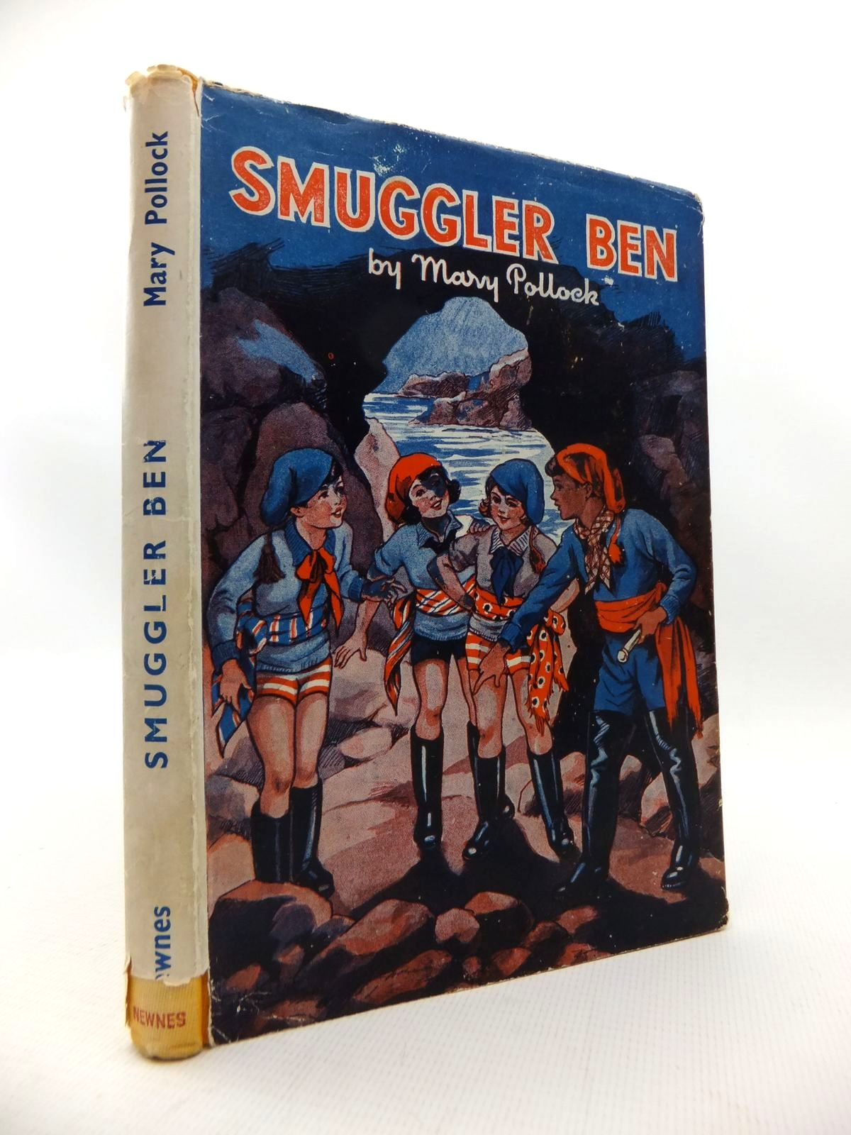 Photo of SMUGGLER BEN written by Blyton, Enid<br />Pollock, Mary illustrated by Davie, E.H. published by George Newnes Limited (STOCK CODE: 1814704)  for sale by Stella & Rose's Books
