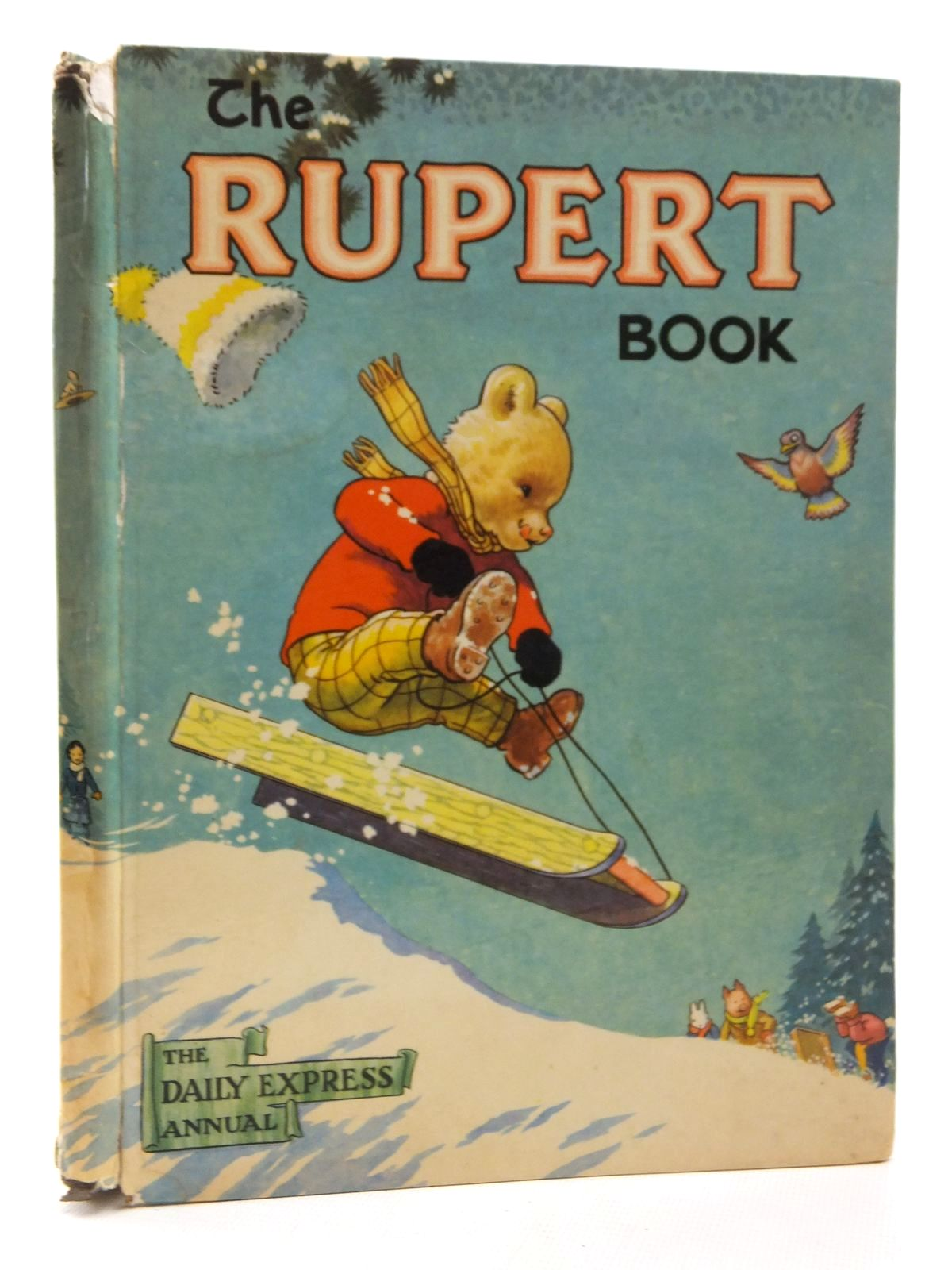 Photo of RUPERT ANNUAL 1956 - THE RUPERT BOOK written by Bestall, Alfred illustrated by Bestall, Alfred published by Oldbourne Book Co. Ltd. (STOCK CODE: 1814804)  for sale by Stella & Rose's Books