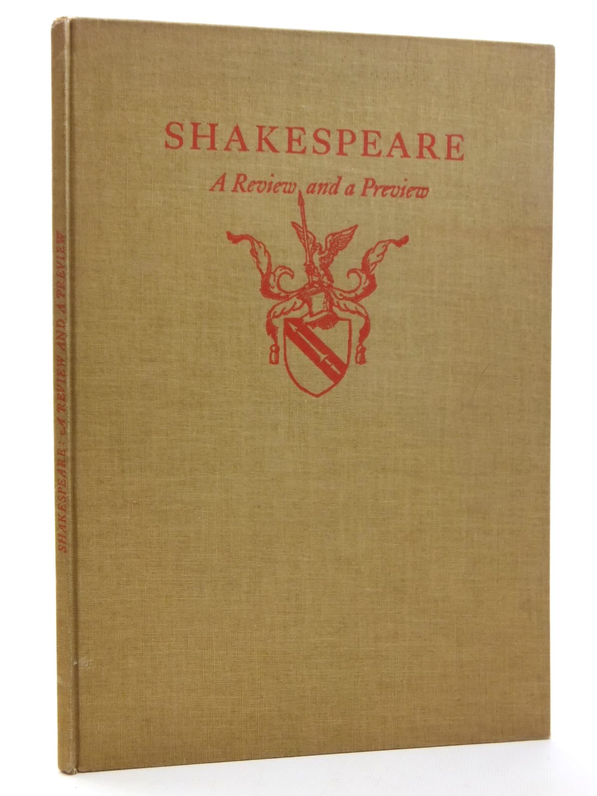 Photo of SHAKESPEARE: A REVIEW AND A PREVIEW written by MacKail, J.W.<br />Milton, John<br />et al, illustrated by Parker, Agnes Miller<br />Galanis, Demtrios<br />Ross, Gordon<br />Rackham, Arthur published by The Limited Editions Club (STOCK CODE: 1814821)  for sale by Stella & Rose's Books