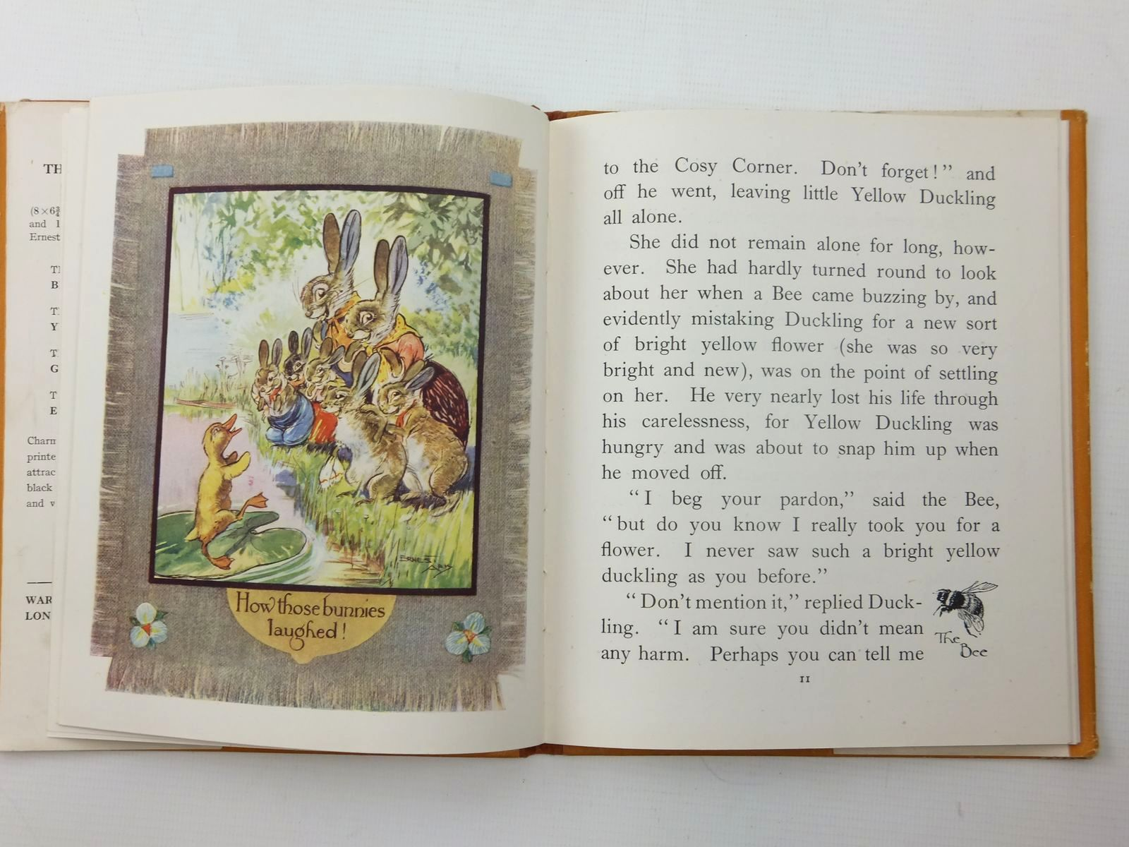 Photo of THE STORY OF YELLOW DUCKLING written by Aris, Ernest A. illustrated by Aris, Ernest A. published by Ward, Lock & Co. Limited (STOCK CODE: 1814881)  for sale by Stella & Rose's Books