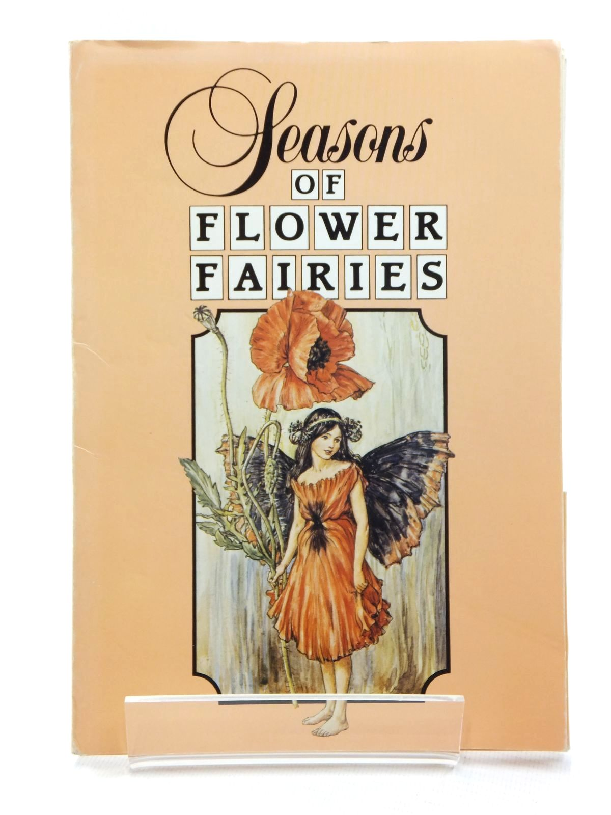 Photo of SEASONS OF FLOWER FAIRIES written by Barker, Cecily M. illustrated by Barker, Cicely Mary published by Blackie (STOCK CODE: 1814938)  for sale by Stella & Rose's Books